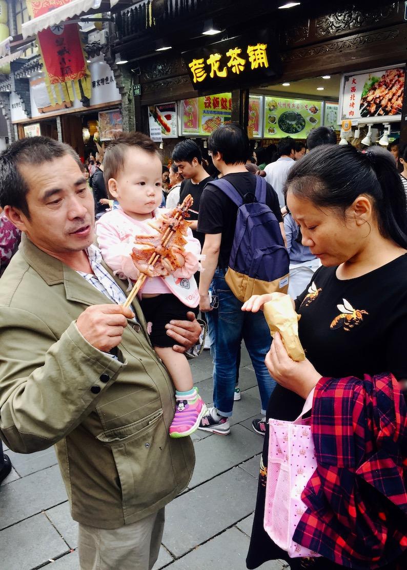 Visit Hefang Market Street Hangzhou China.