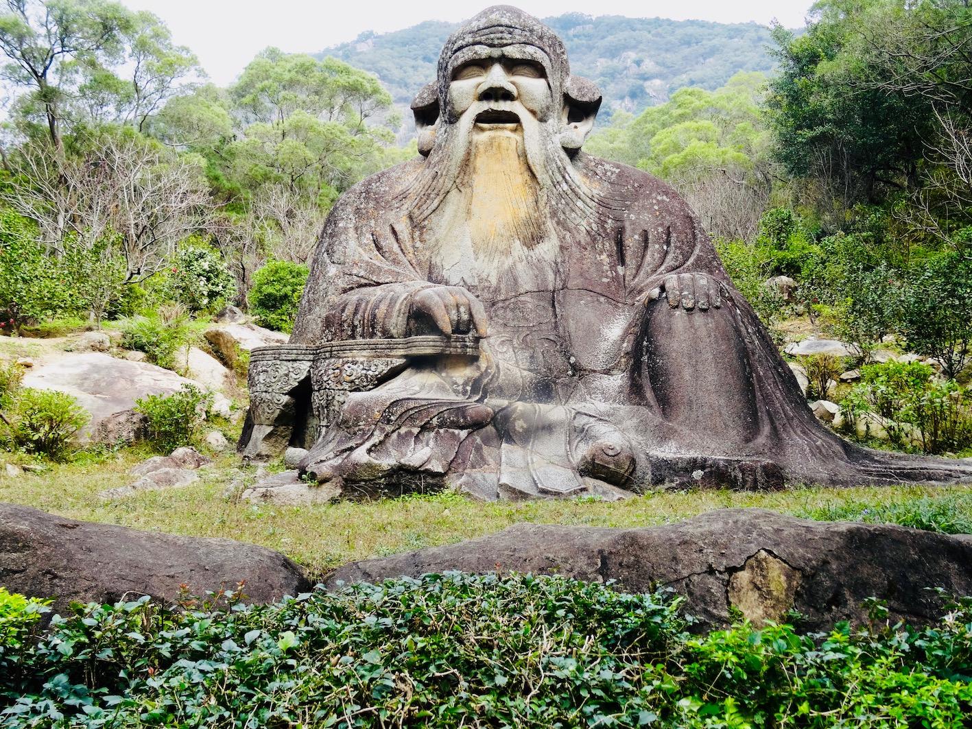 Lao Tzu Statue Qingyuan Mountain Quanzhou