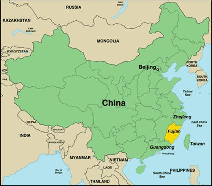 Visit Fujian province China