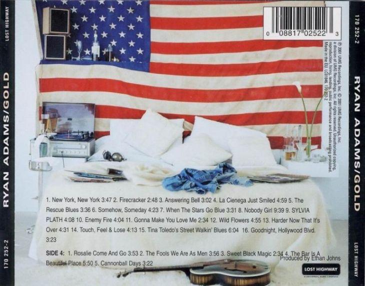 ack cover Gold Ryan Adams album review