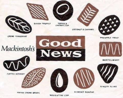Good News chocolates Mackintosh Savoy Truffle The Beatles album review