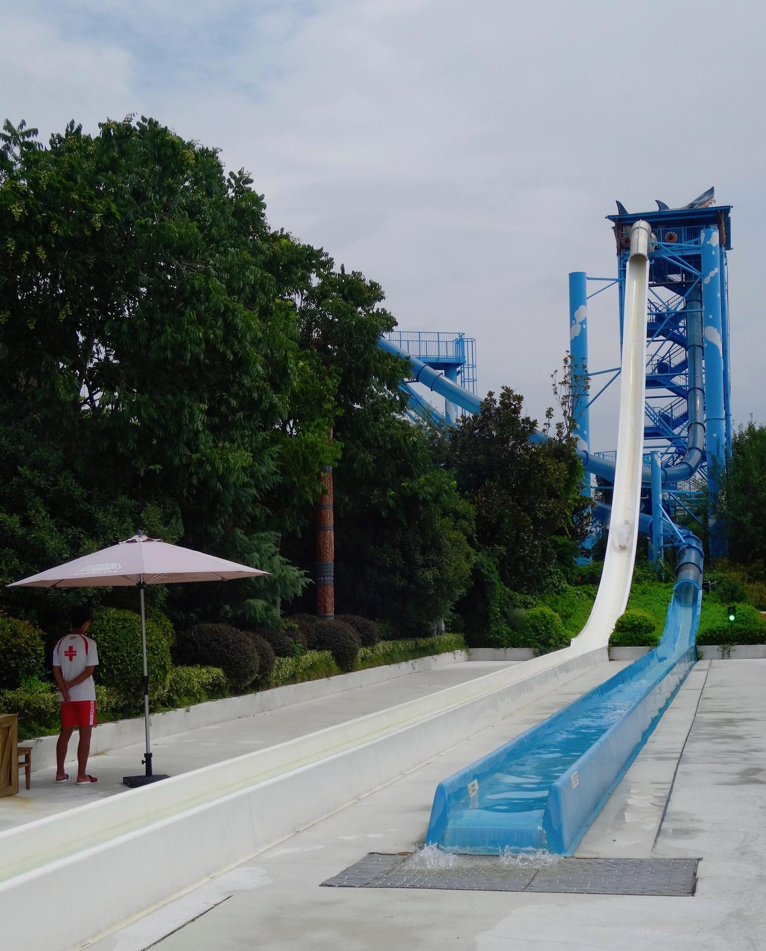 The Aqua Loop Lishui Adventure Island Water World Zhejiang Province China