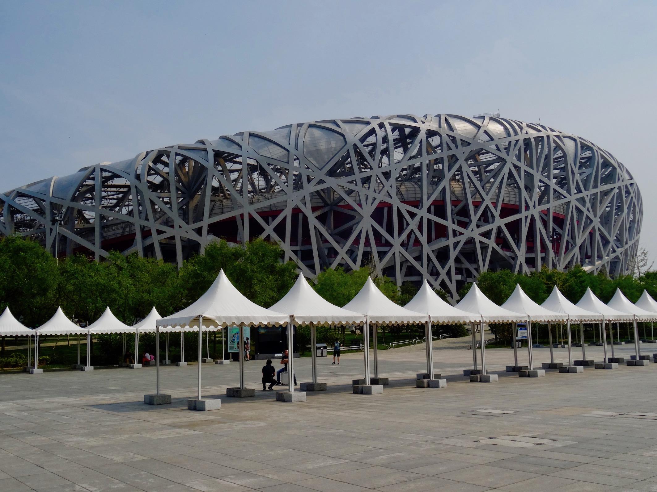 The Bird's Nest National Stadium Beijing