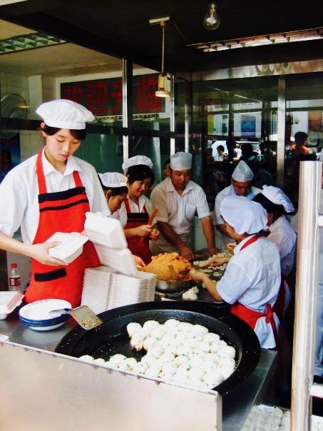 Yang's Fried Dumplings Shanghai China