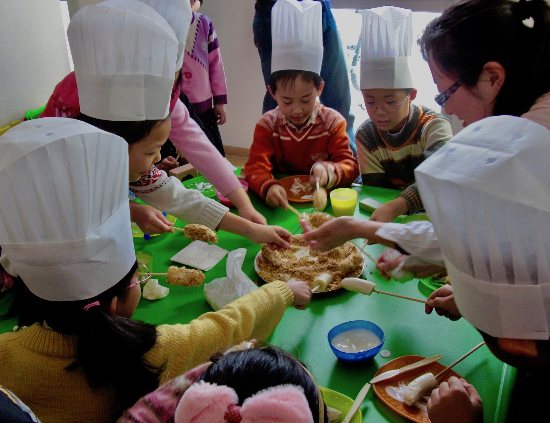 English Zone cooking class in Shangdi Beijing
