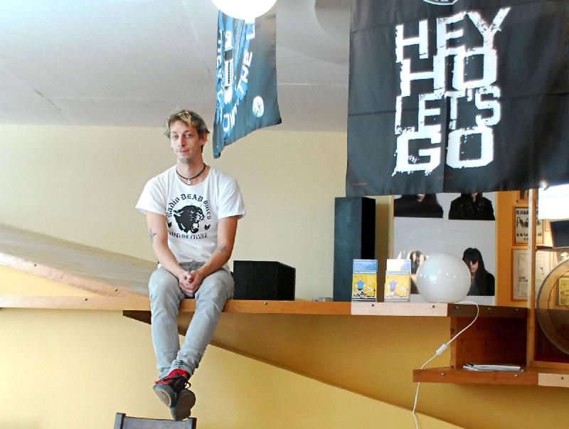 Florian Hayler Ramones Museum Berlin