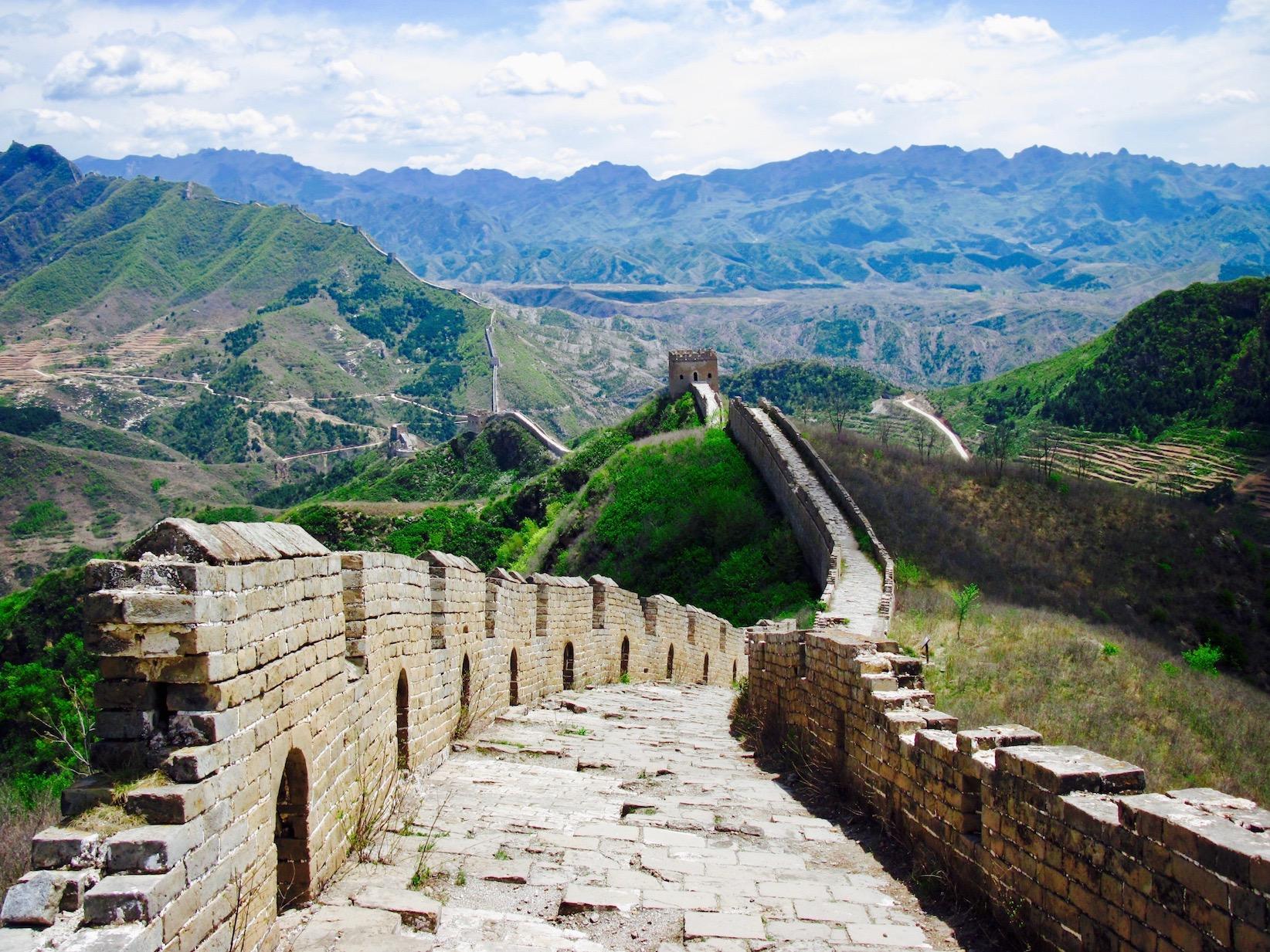 Jinshanling to Simatai hike The Great Wall of China Beijing