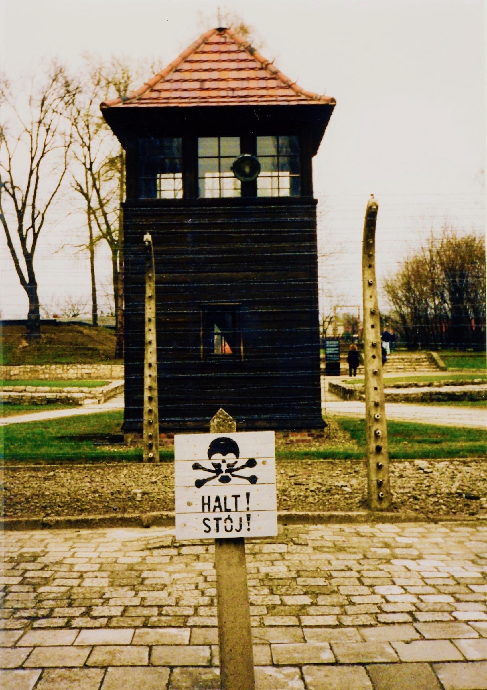 Watchtower Auschwitz Oswiecim Poland