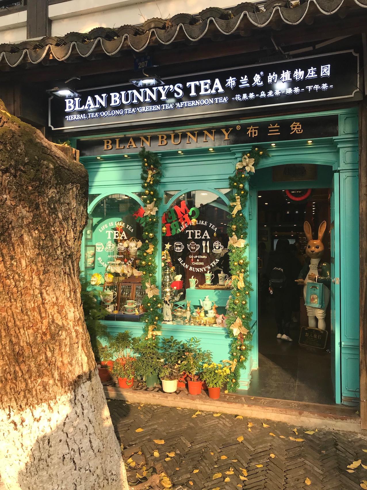 Blan Bunny's Tea Pingjiang Road Suzhou China