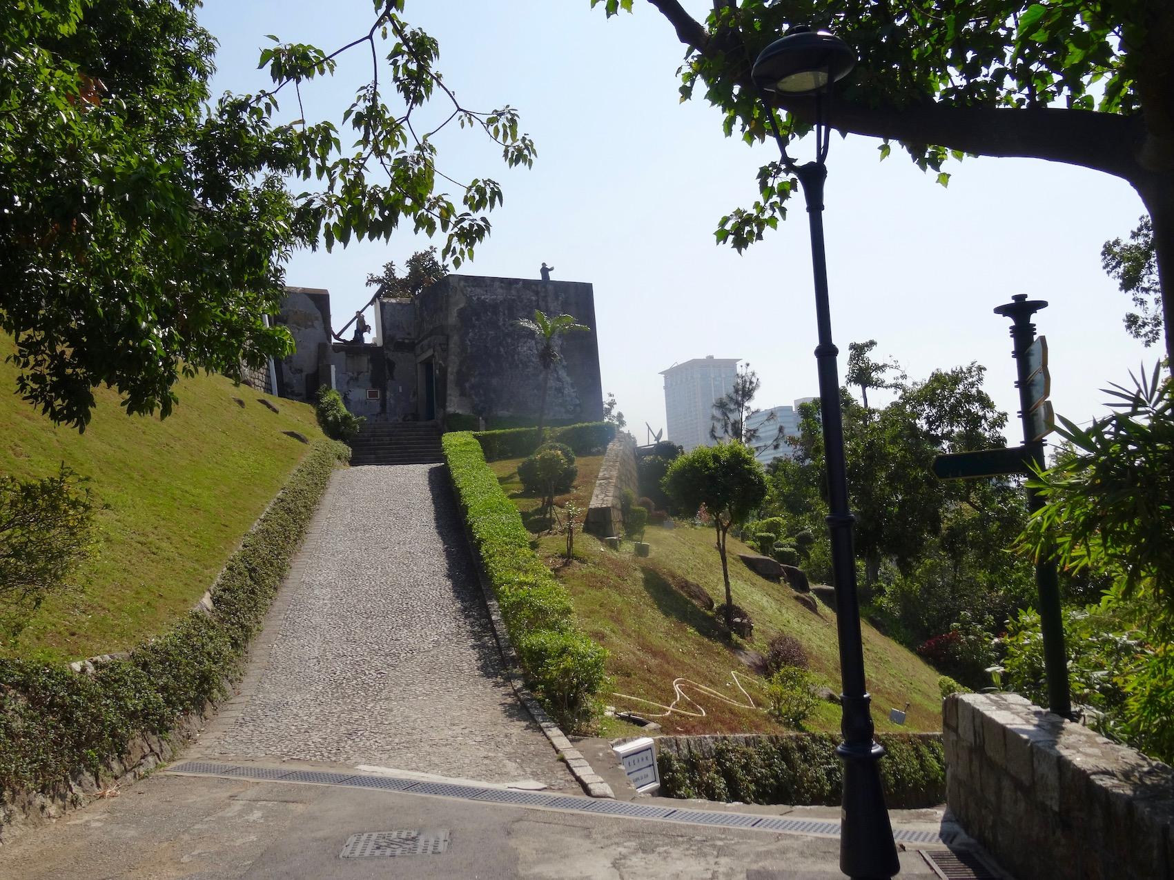 Guia Fortress Guia Hill Macau