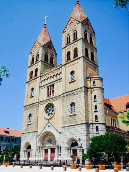 St. Michael's Church Qingdao Catholic Church Shandong Province China