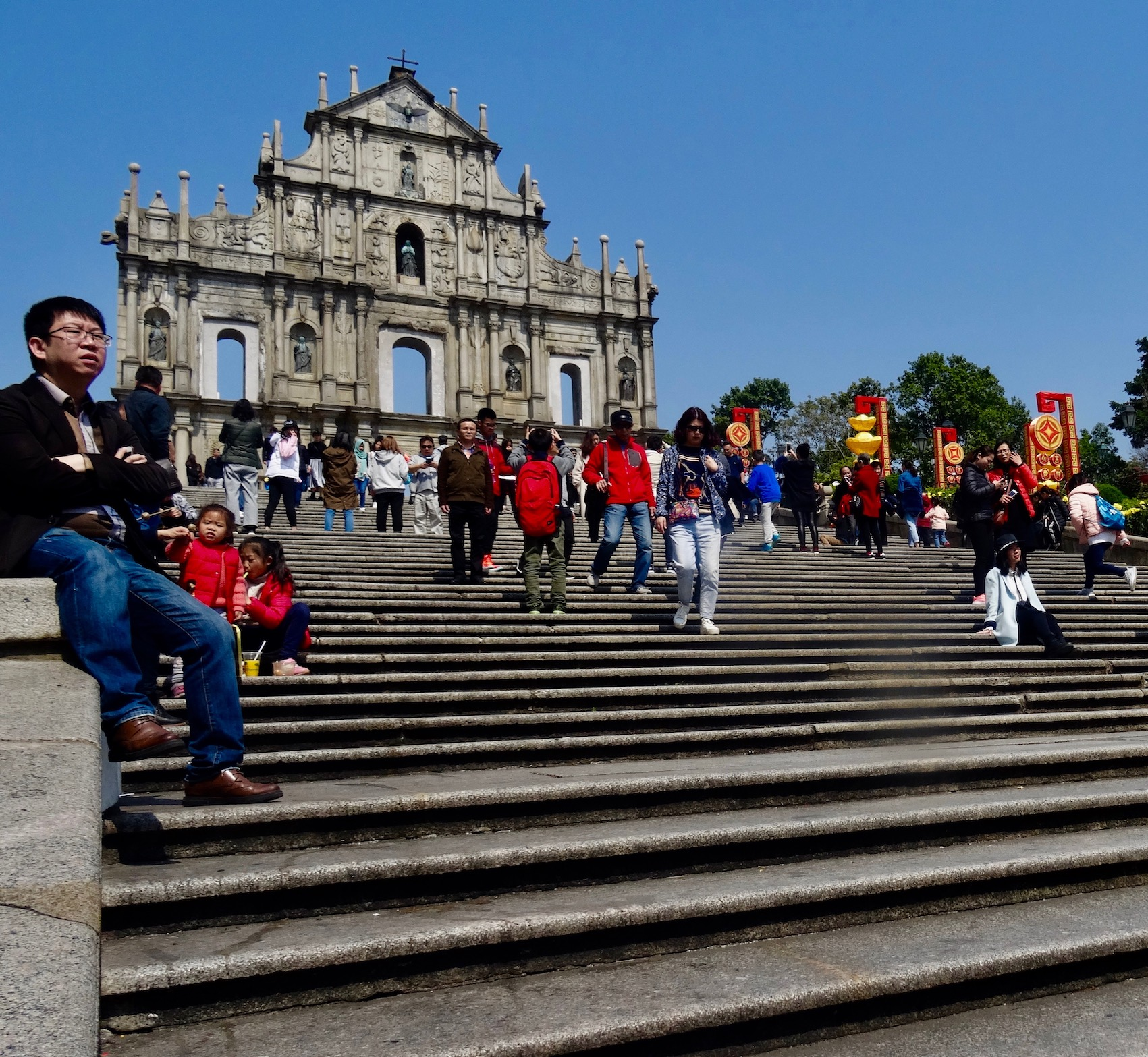 St. Paul's Ruins Macau