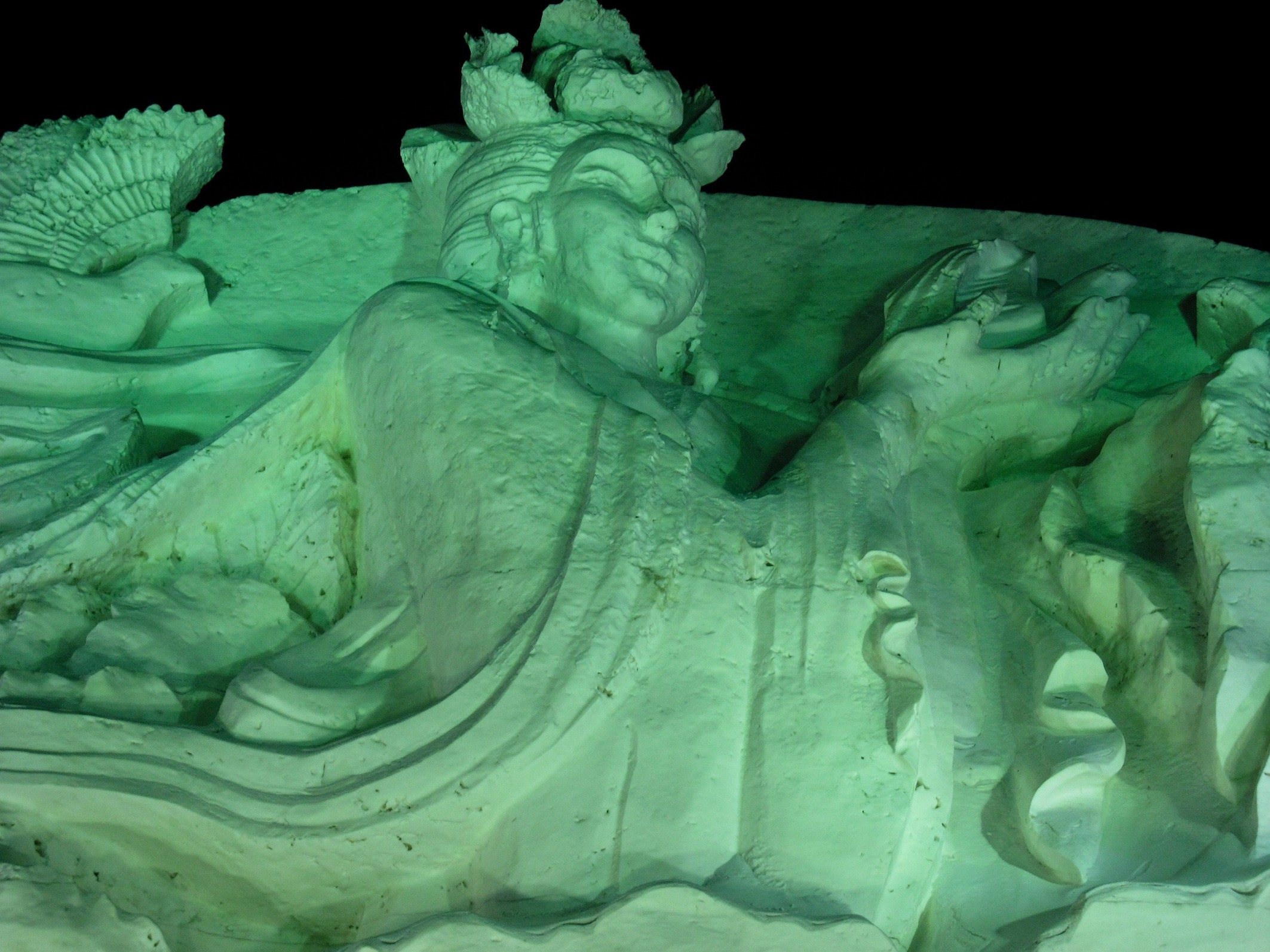 Harbin Ice and Snow Sculpture Festival Harbin Heilongjiang province China