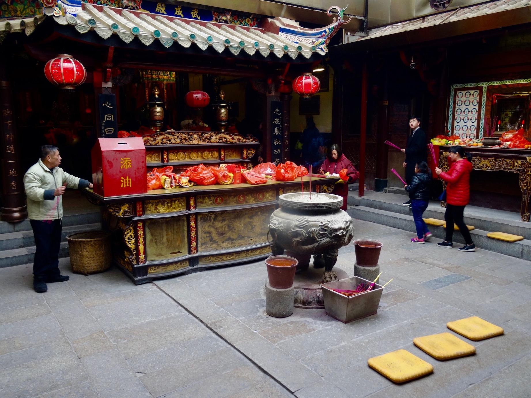 Inside Guandi Temple Quanzhou Fujian Province China