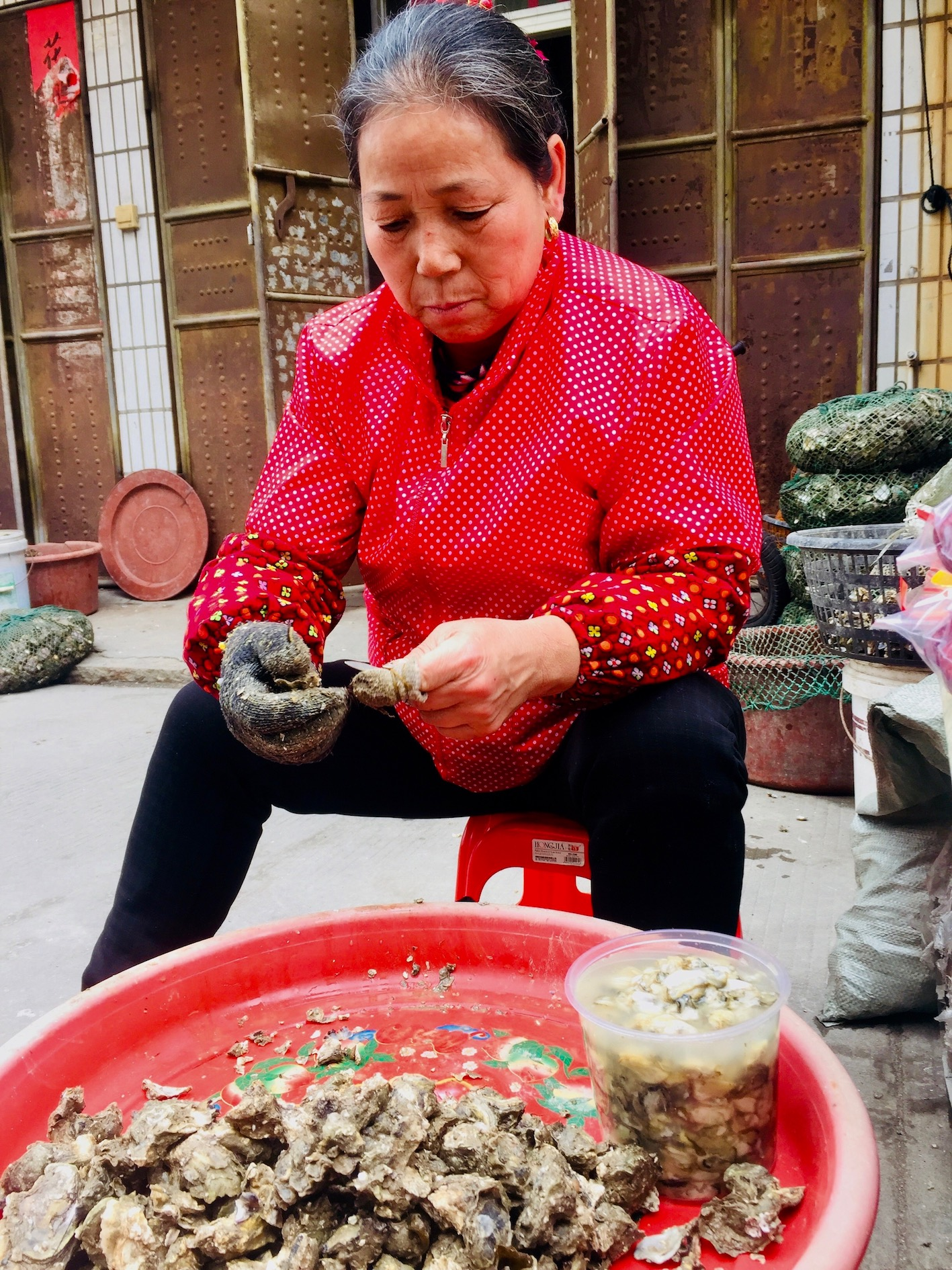 Xunpu Oyster Village Quanzhou Fujian Province China