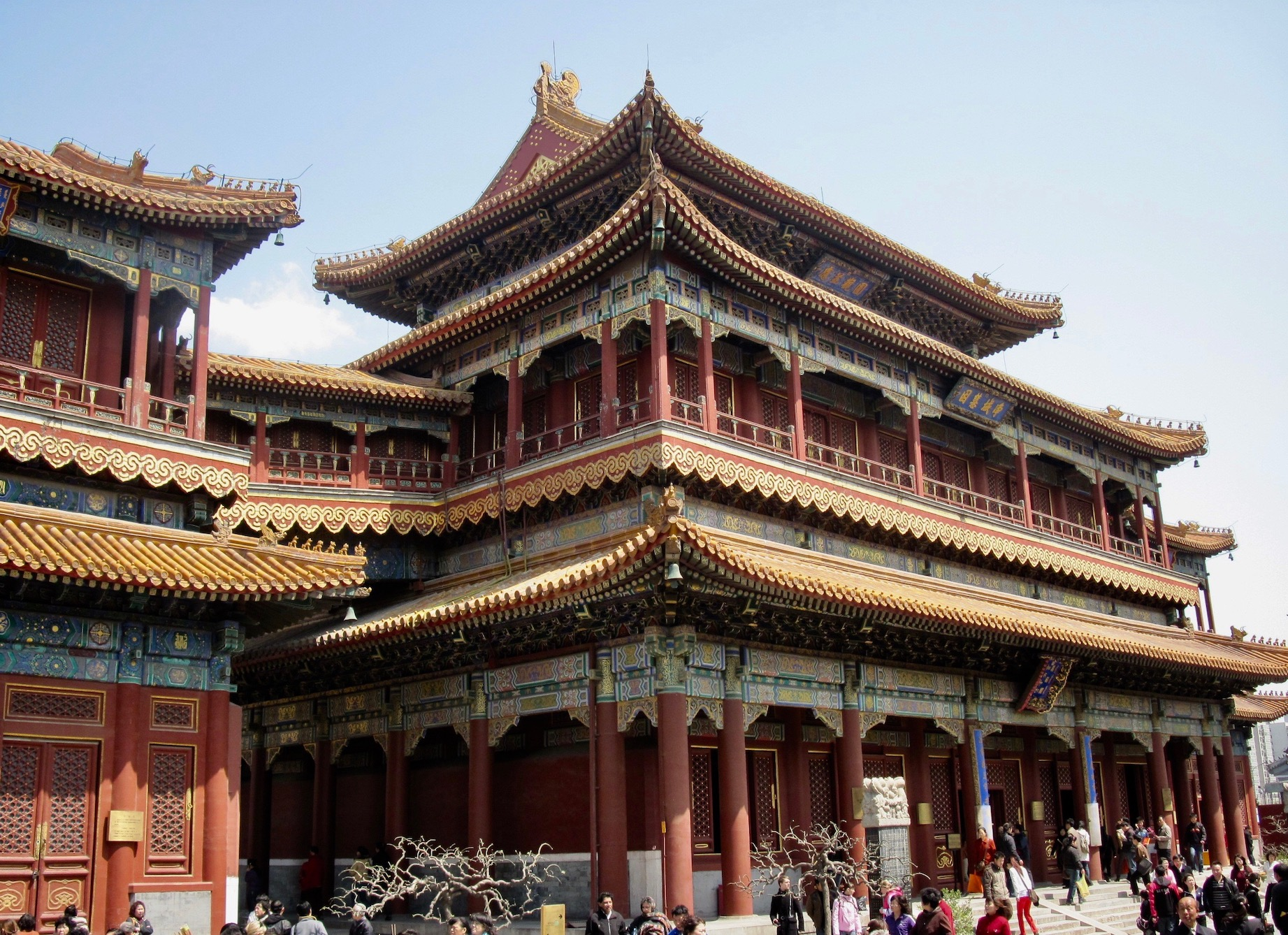 Pavilion of Ten Thousand Happinesses Llama Temple Beijing