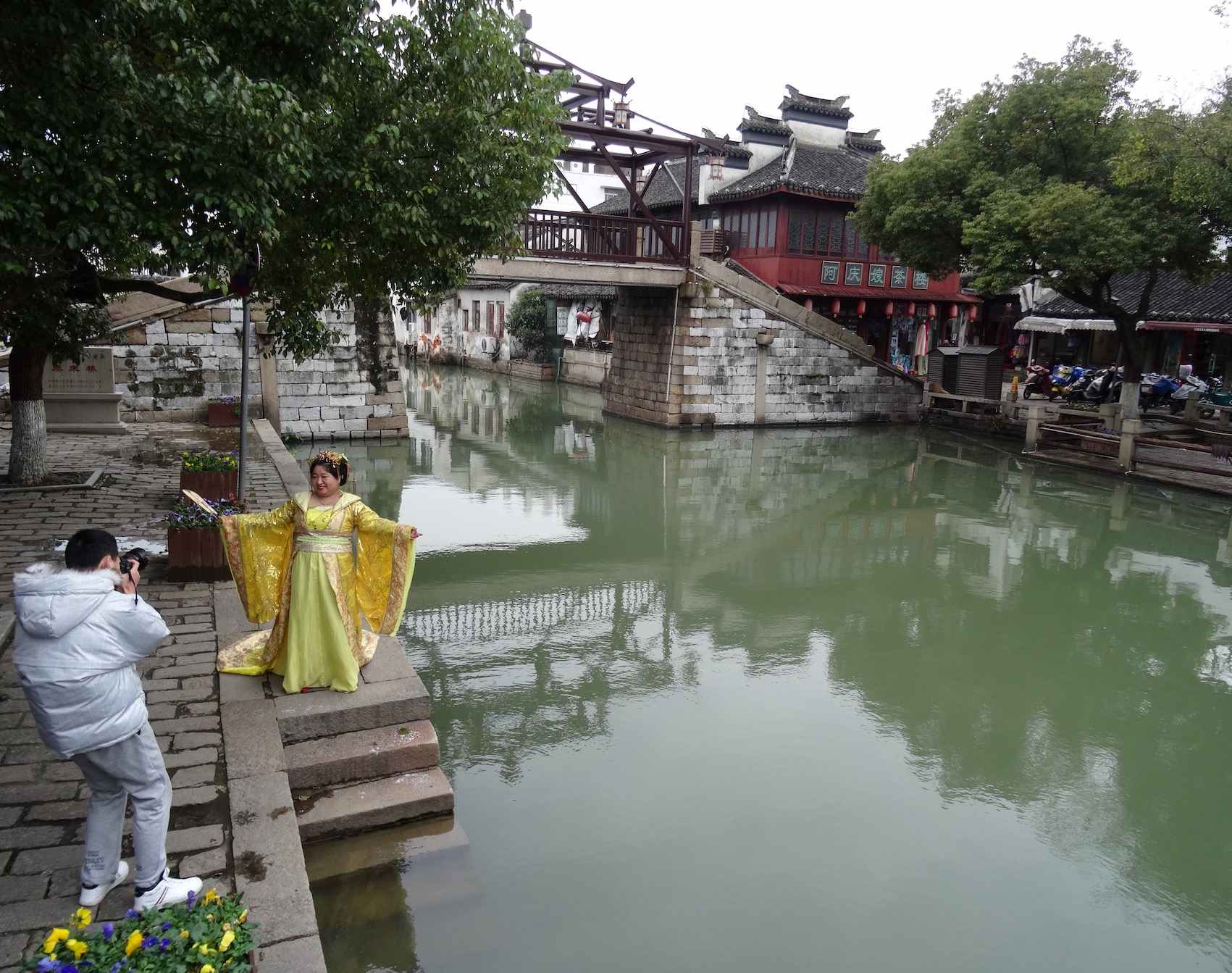 Taiping Bridge Tongli Water Town Suzhou China