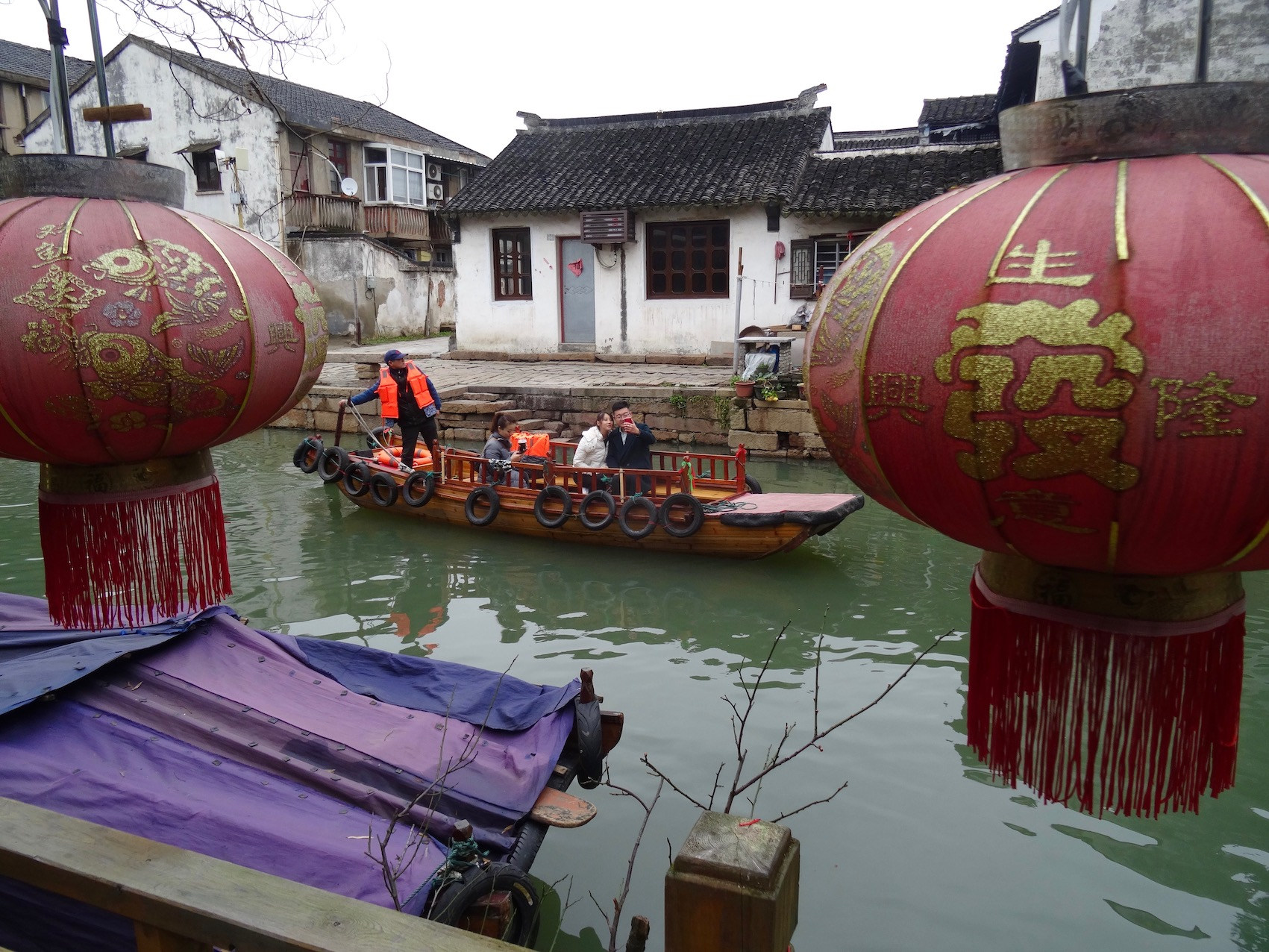 Things to see and do Tongli Water Town Suzhou China