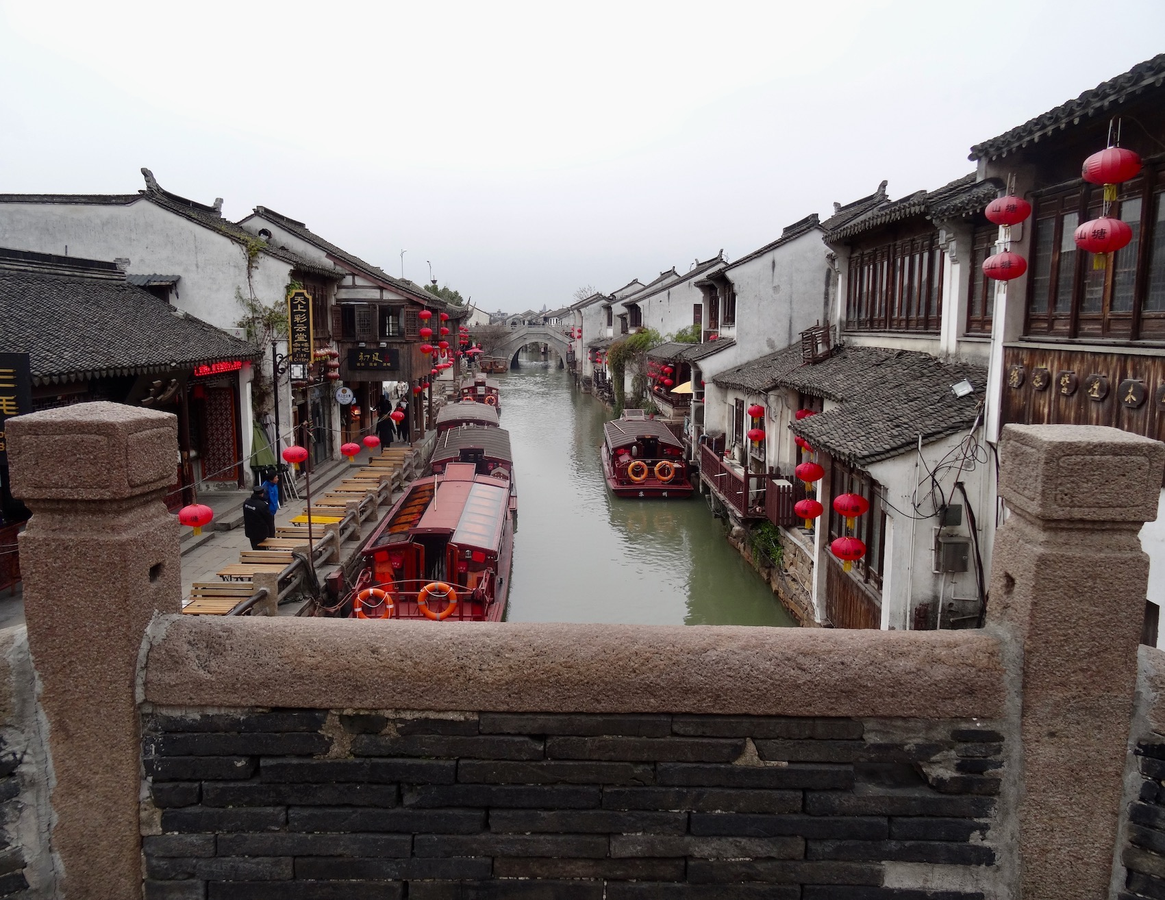 Tonggui Bridge Shantang Street Suzhou Jiangsu Province China