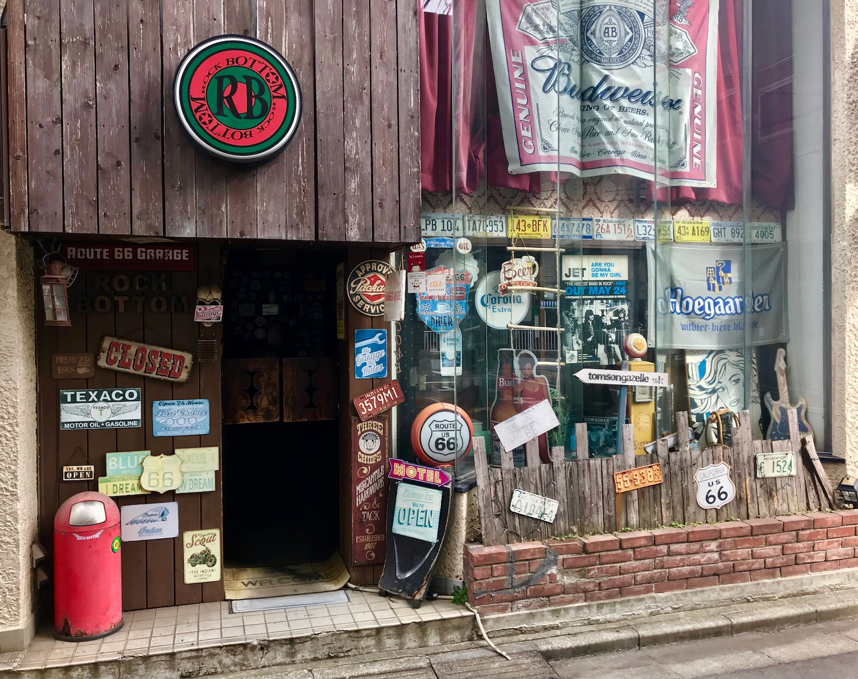 Bar Rock Bottom Asakusa Tokyo