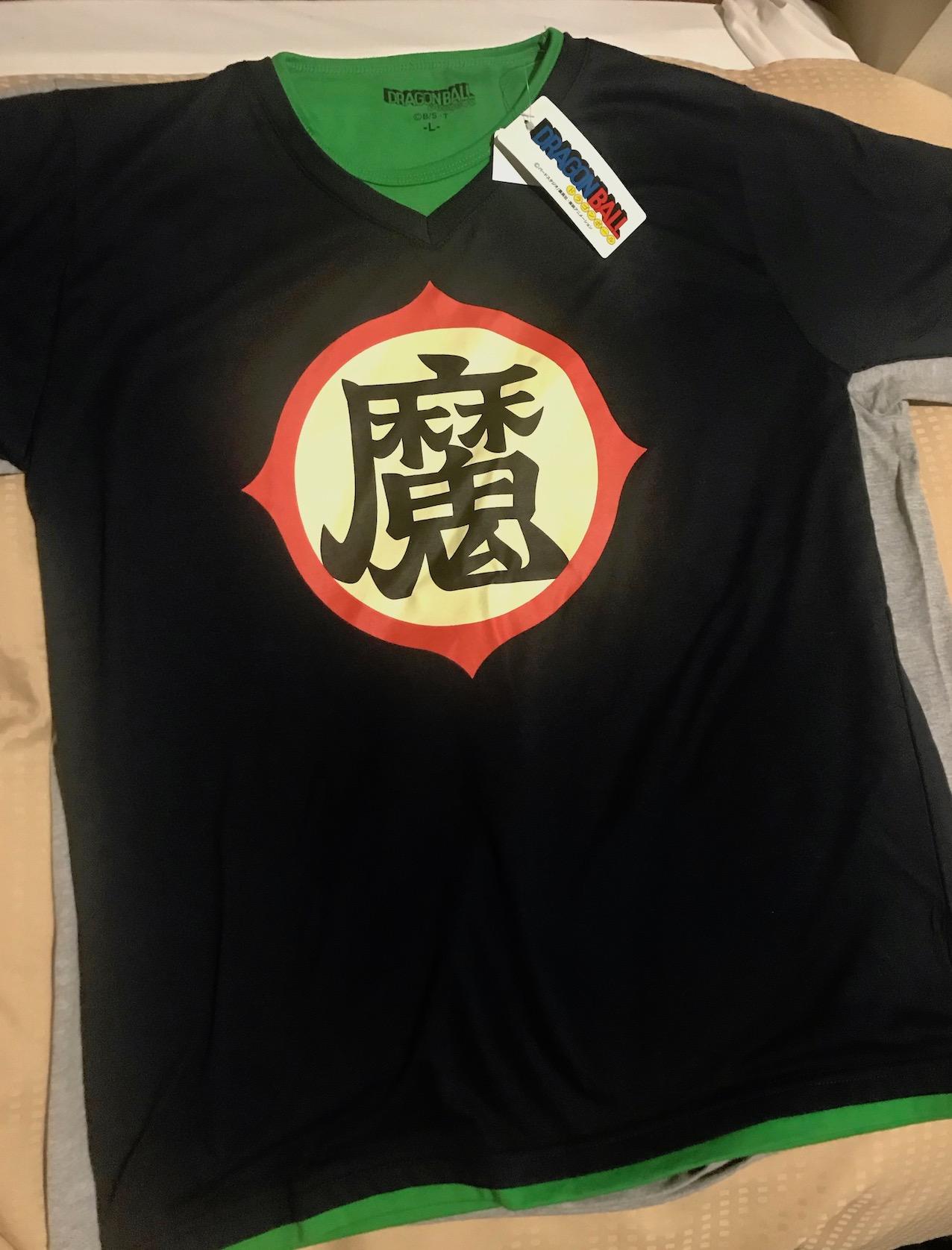 Dragon Ball t-shirt Don Quijote Akihabara Tokyo