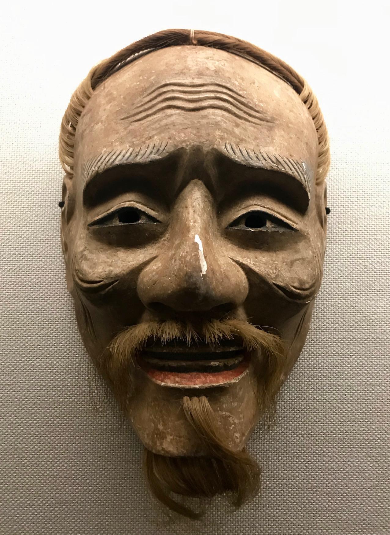 Sankojo Noh Mask Honkan Japanese Gallery Tokyo National Museum