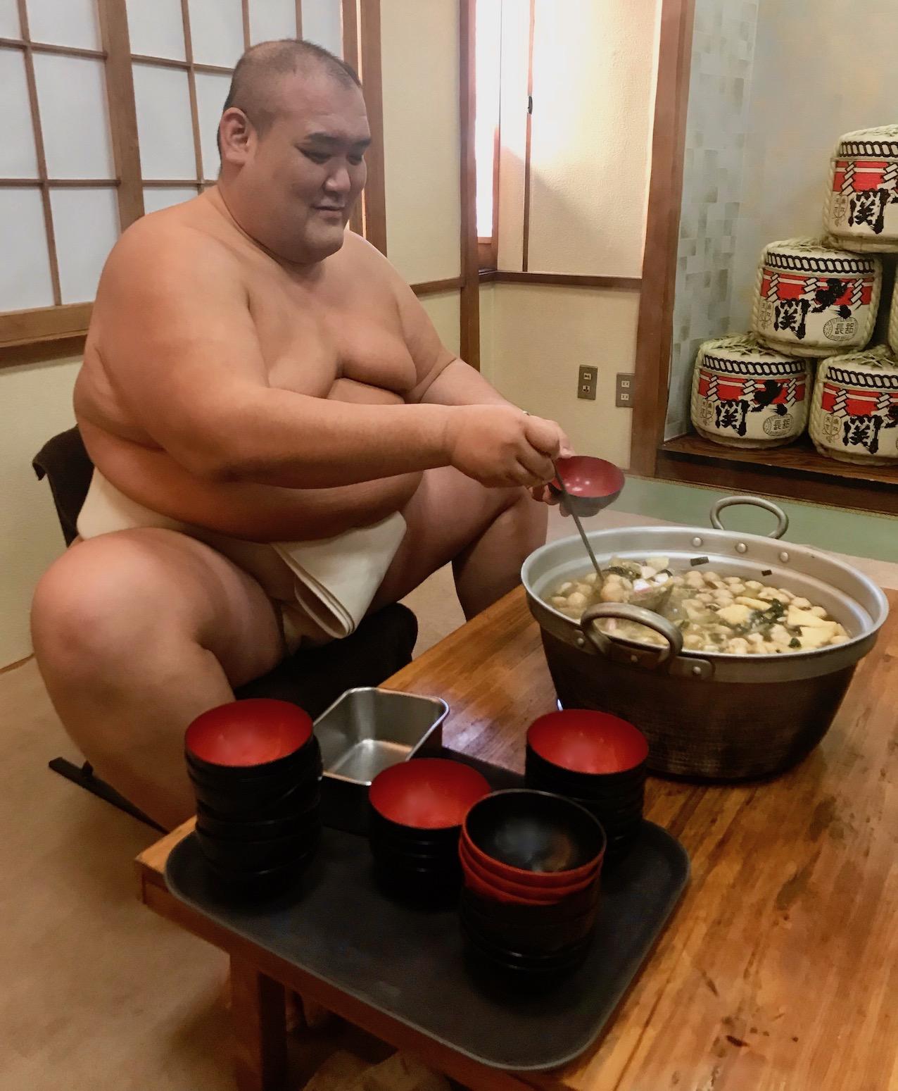 Chanko Nabe Sumo Stew Asakusa Tokyo