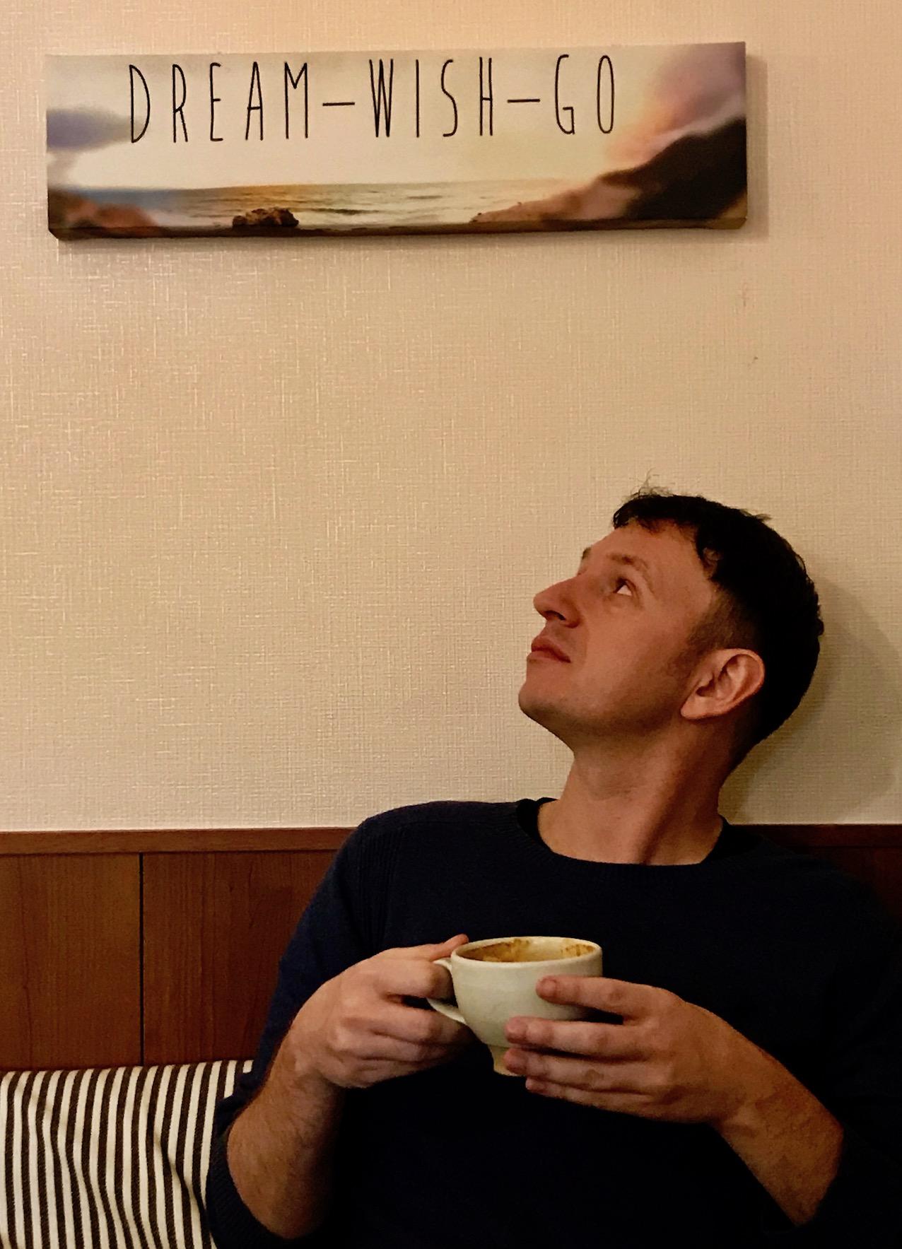 Dream Wish Go Nananamoe Coffee Asakusa Tokyo