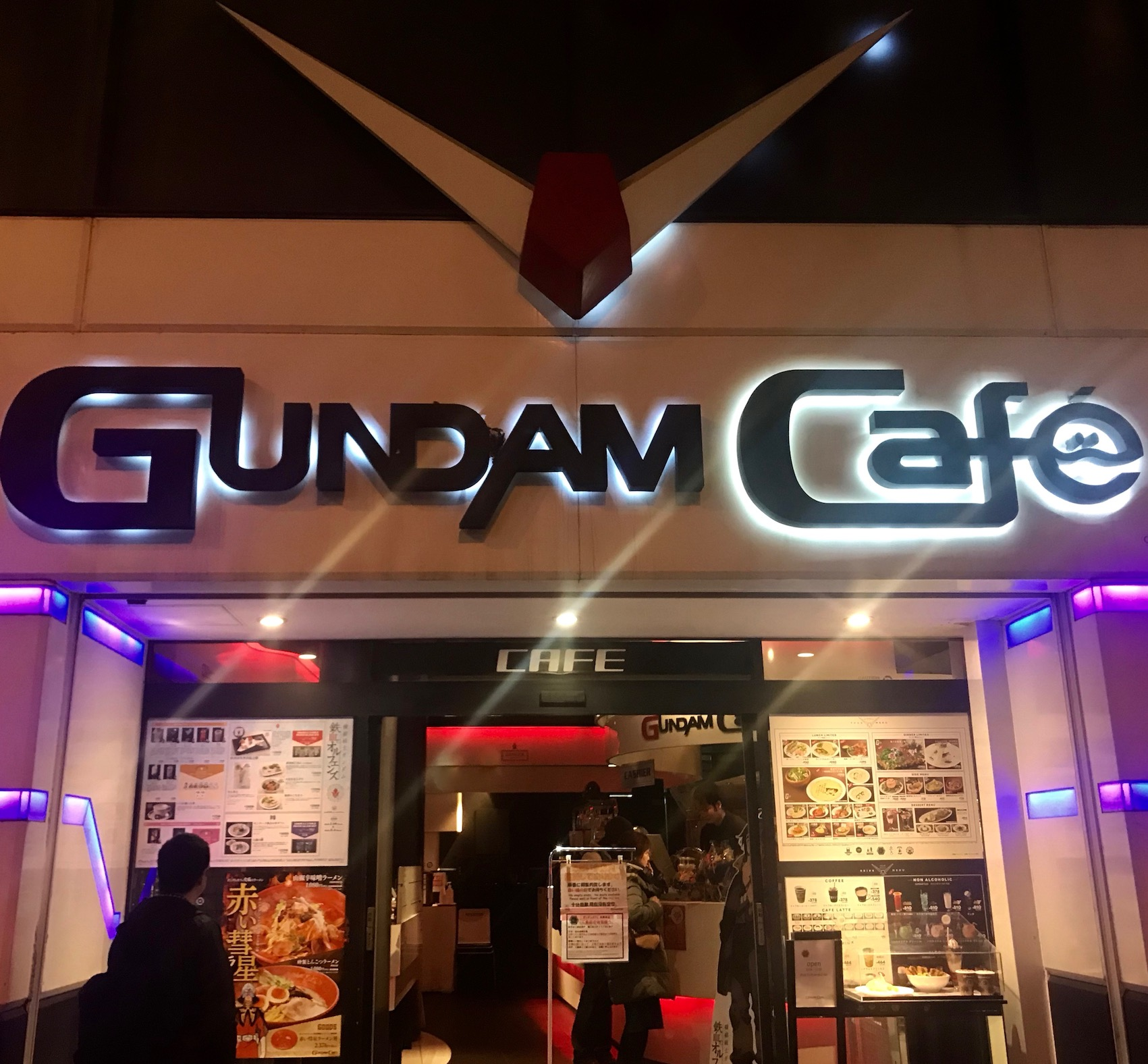 Exterior Gundam Cafe Akihabara Tokyo
