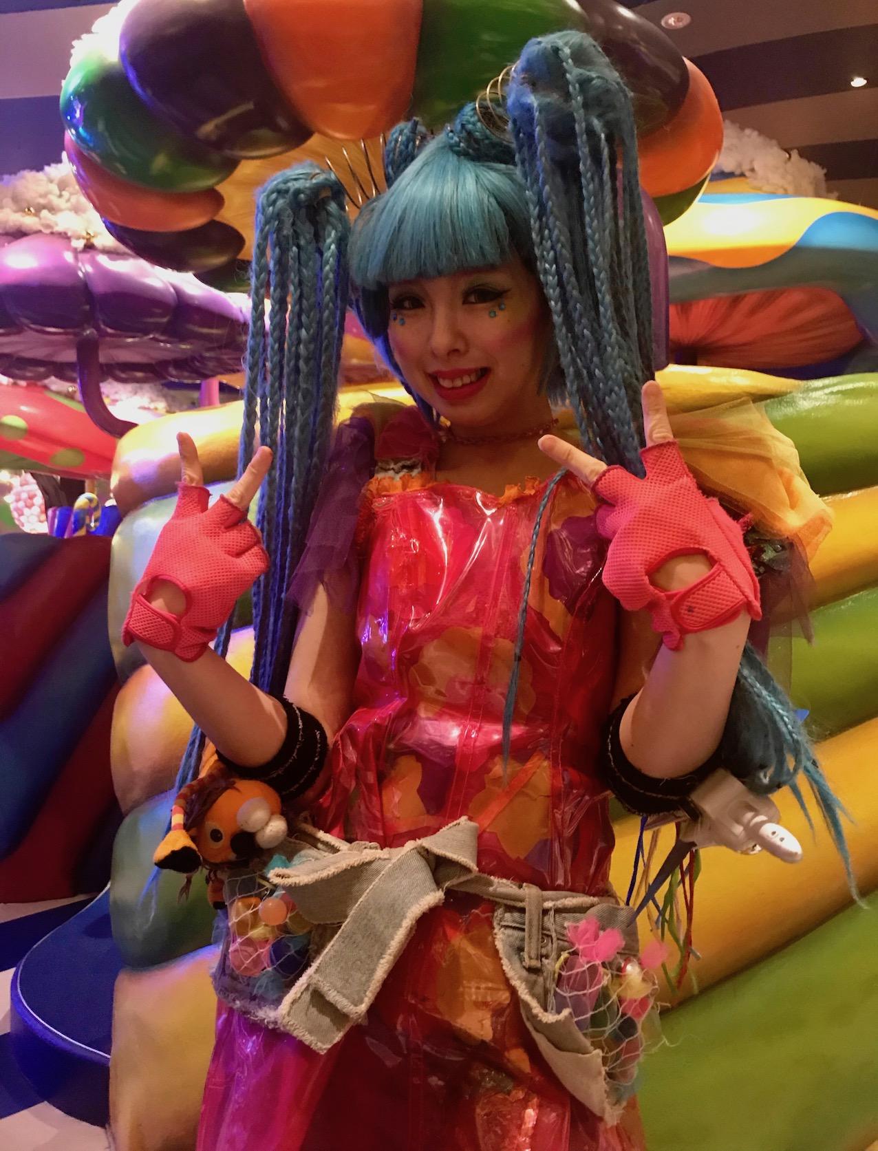 Hostess Kawaii Monster Cafe Tokyo