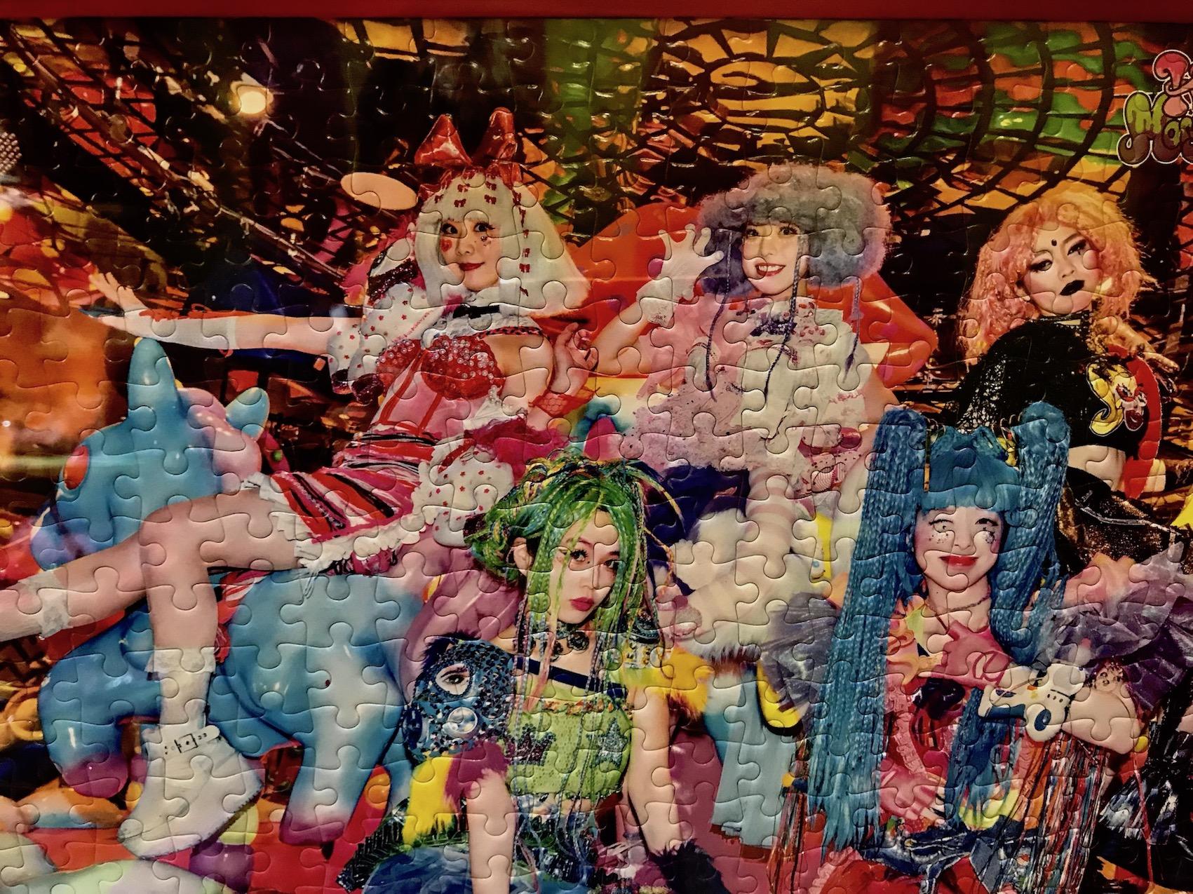 Hostess puzzle Kawaii Monster Cafe Tokyo