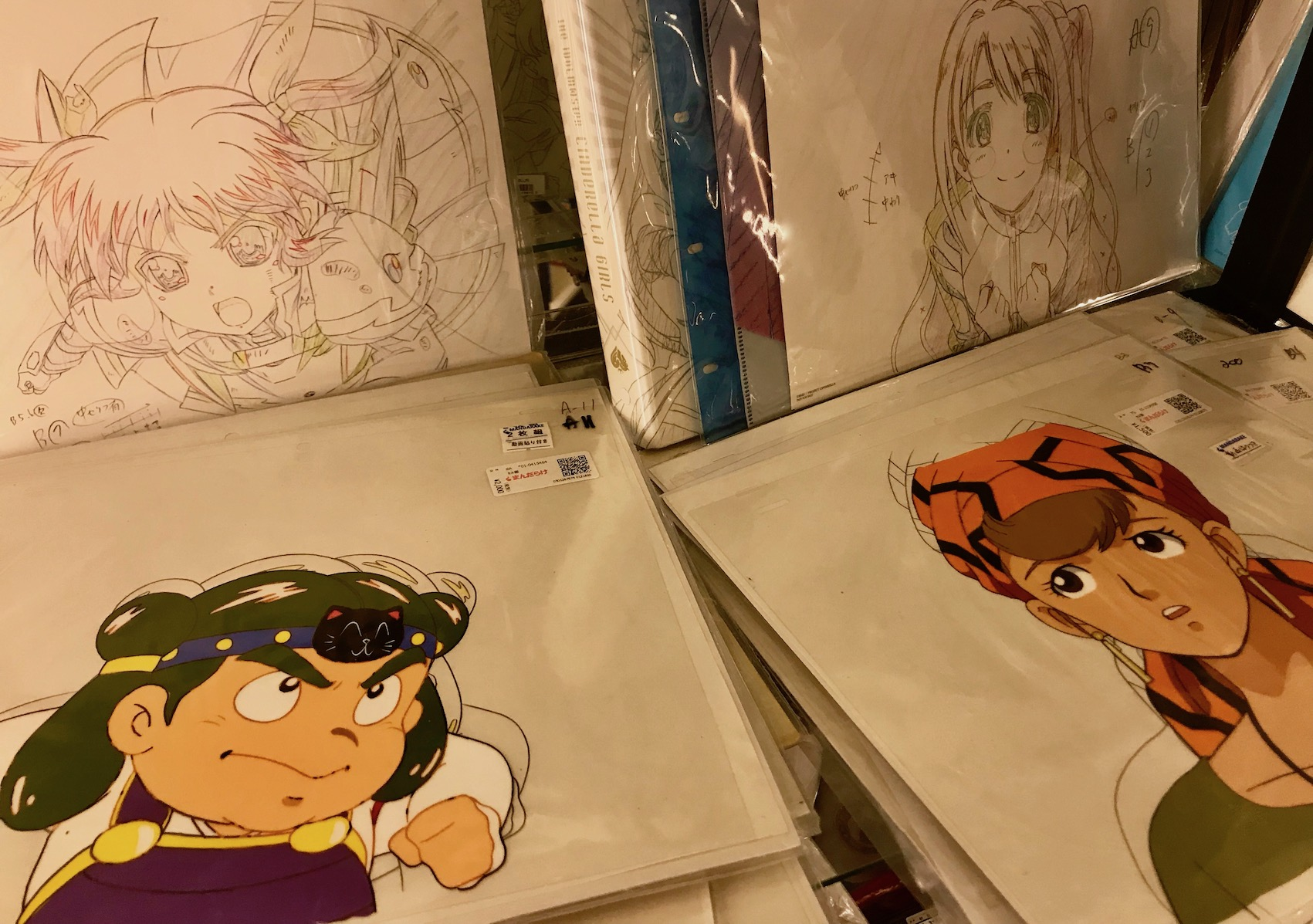 Manga sketch collectibles 1st floor Mandarake Complex Tokyo