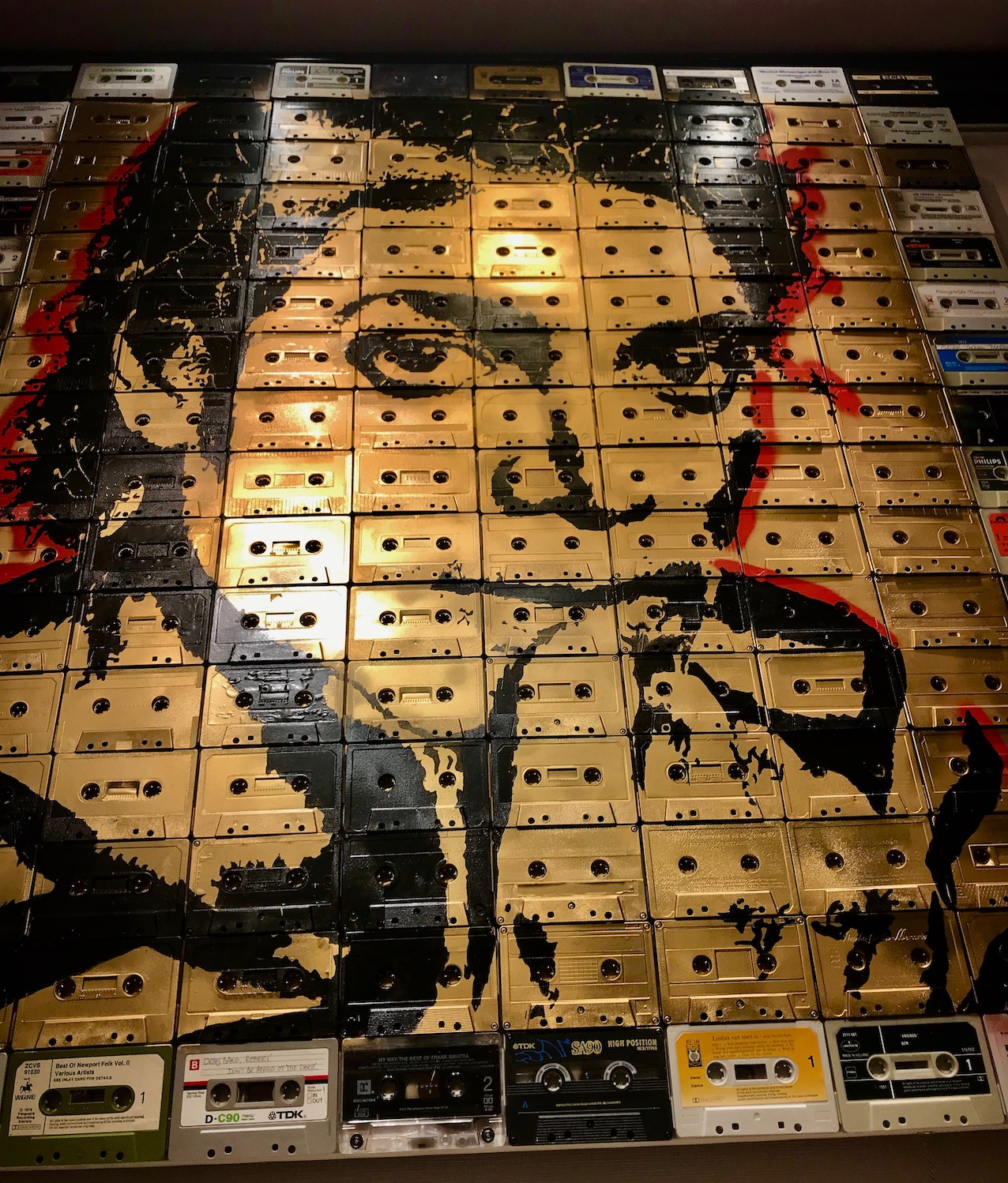 Michael Jackson Cassette Tape Canvas Gallery Life Accent Ginza Tokyo