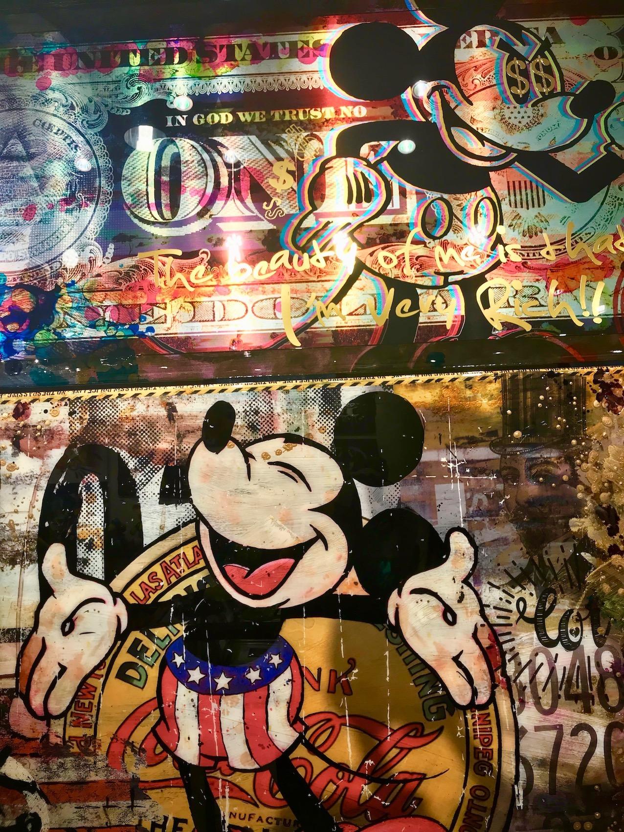 Mickey Coca Cola Artwork Gallery Life Accent Ginza Tokyo