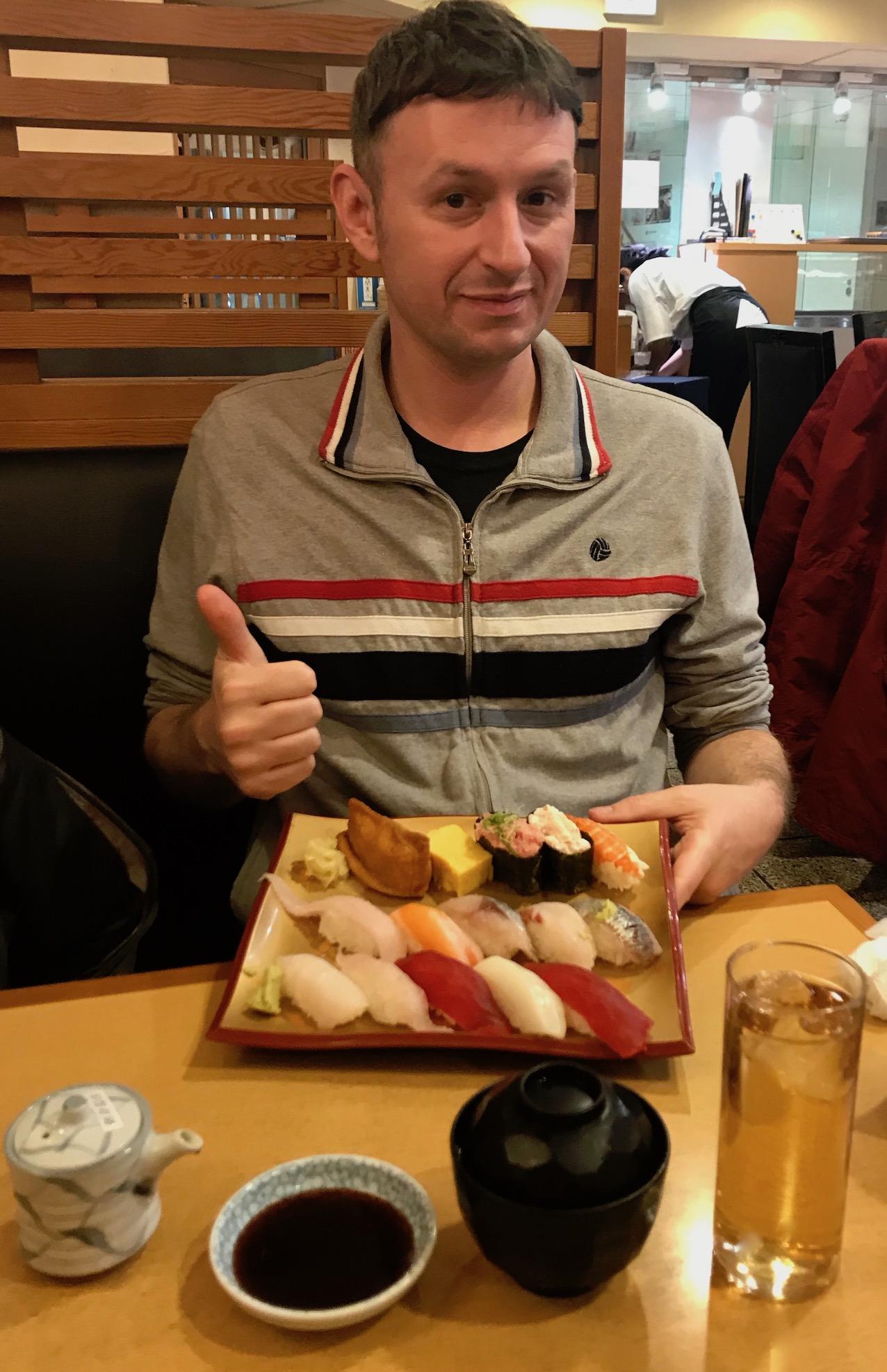 Mixed sushi set Gran Gourmet Kitchen Street Tokyo Station