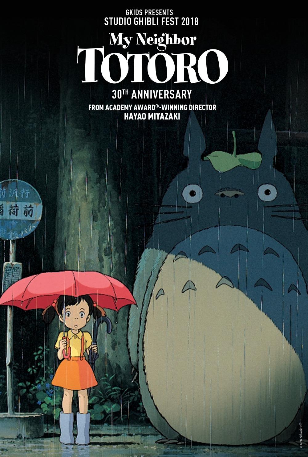 My Neigbor Totoro Studio Ghibli.
