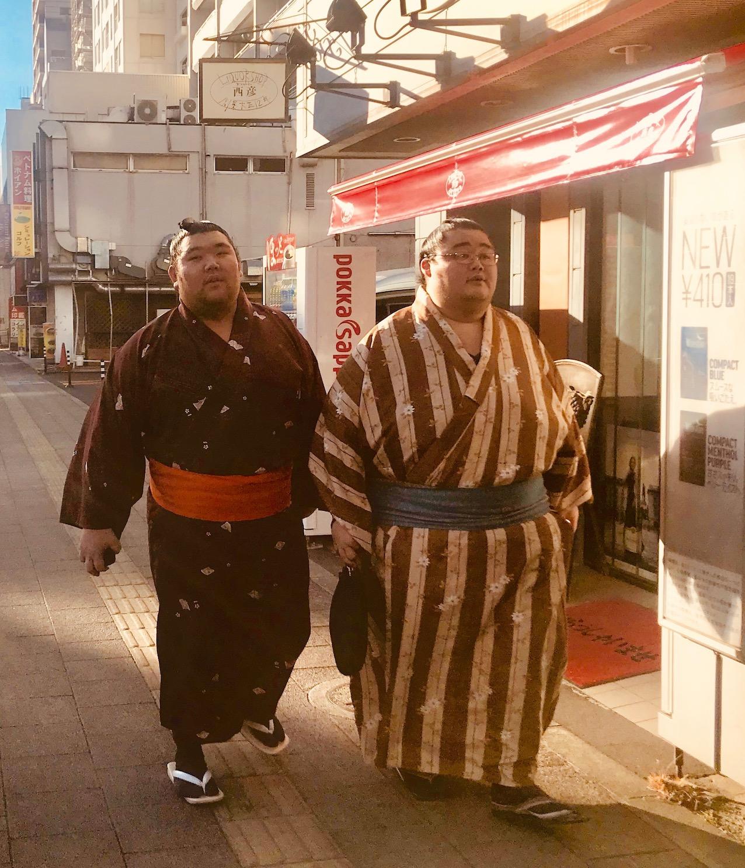 Ryogoku Sumo District Tokyo
