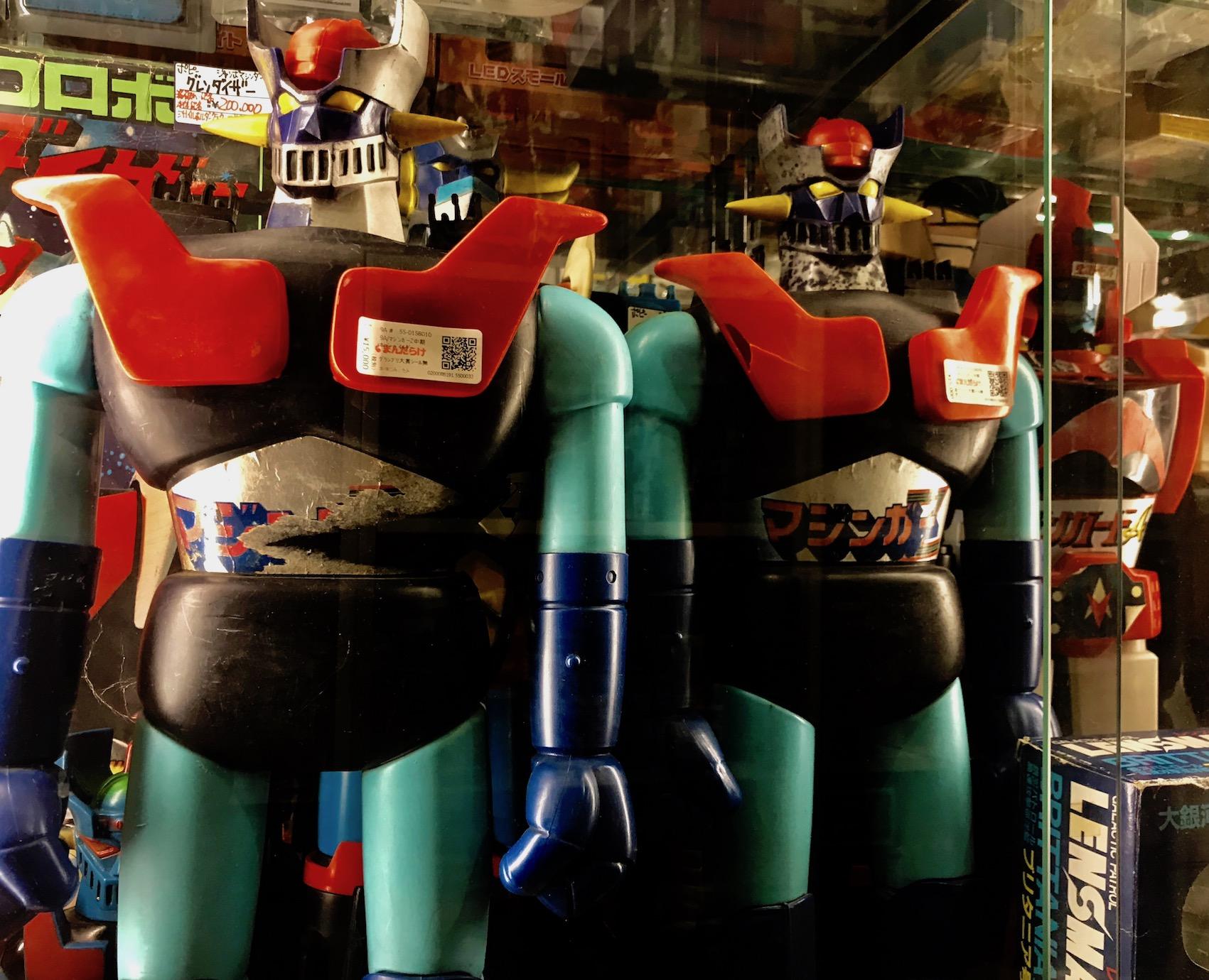 Toy robots 8th floor Mandarake Complex Tokyo