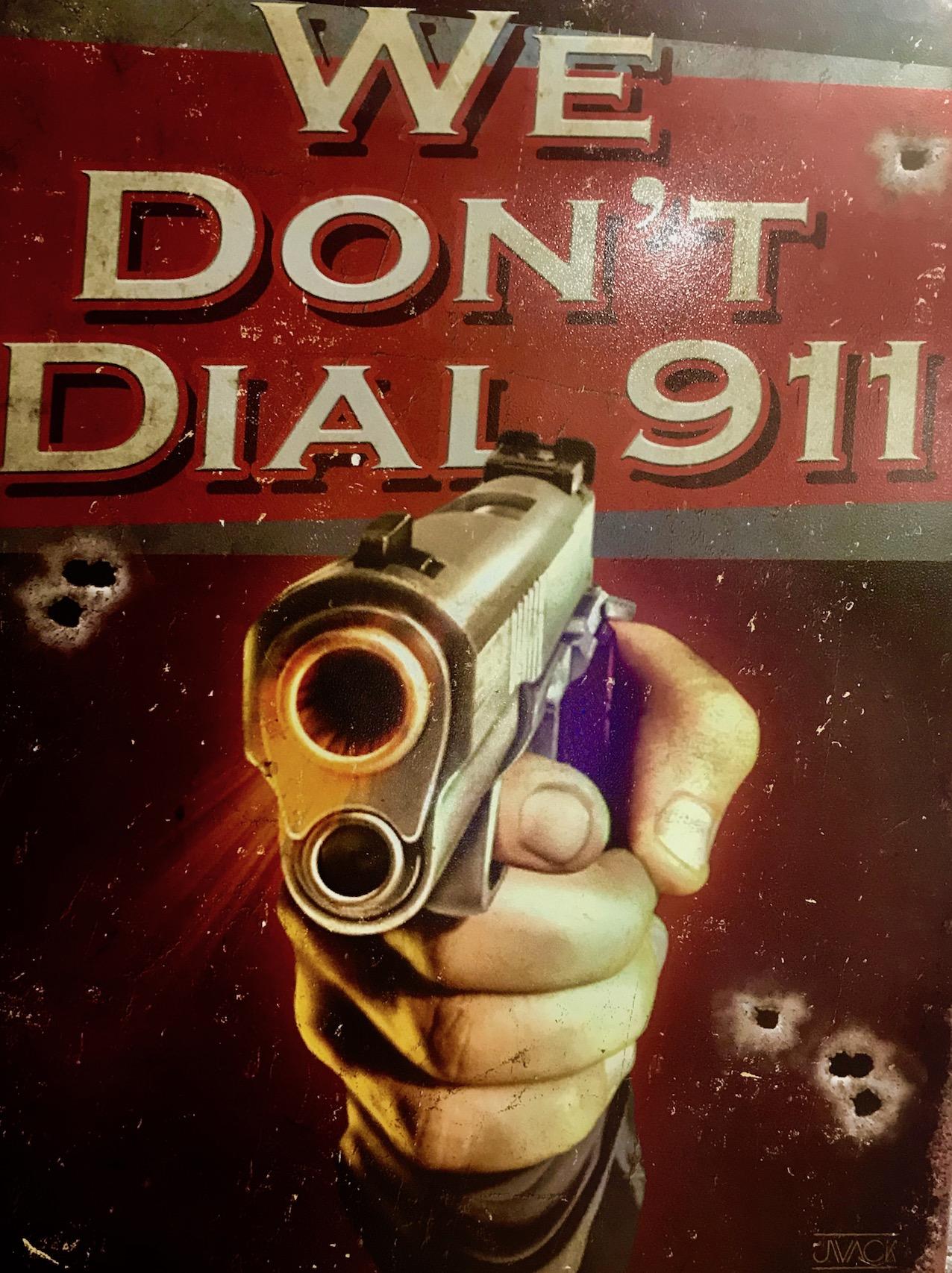 We Don't Dial 911 Akiba Base Shooting Cafe and Bar Akihabara Tokyo