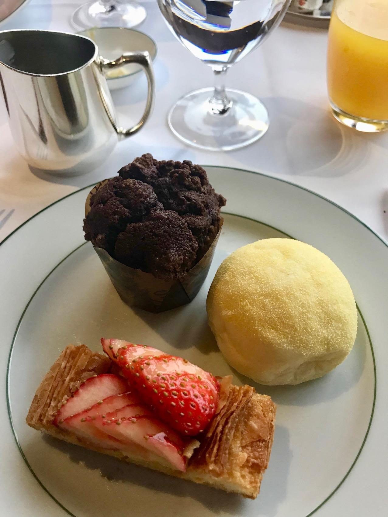 Breakfast at Park Hyatt Tokyo.