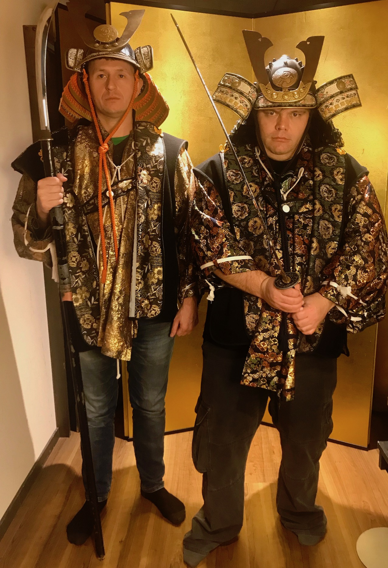 Dress up at The Samurai Museum Tokyo.