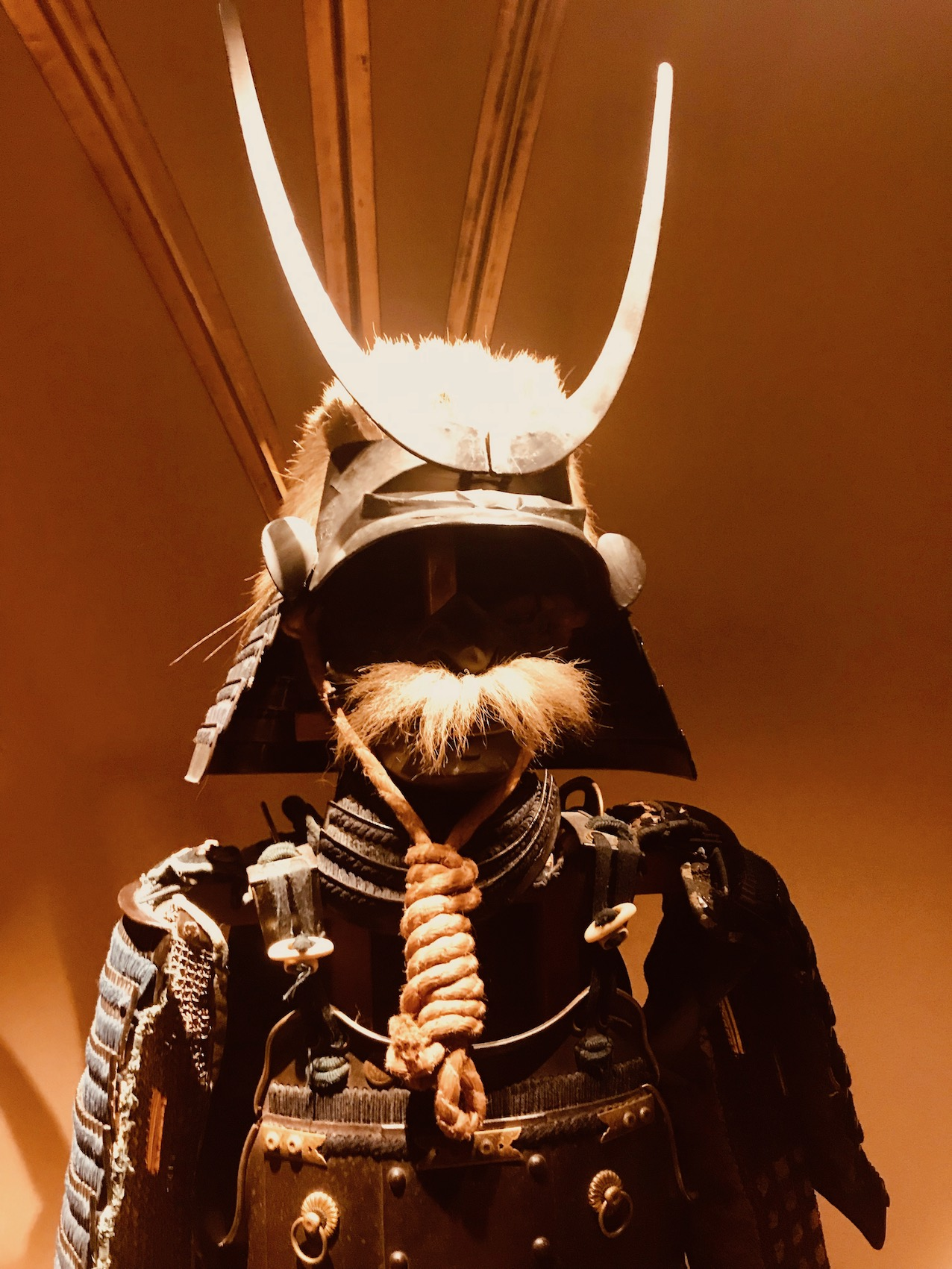 Edo period armor and helmet The Samurai Museum Tokyo