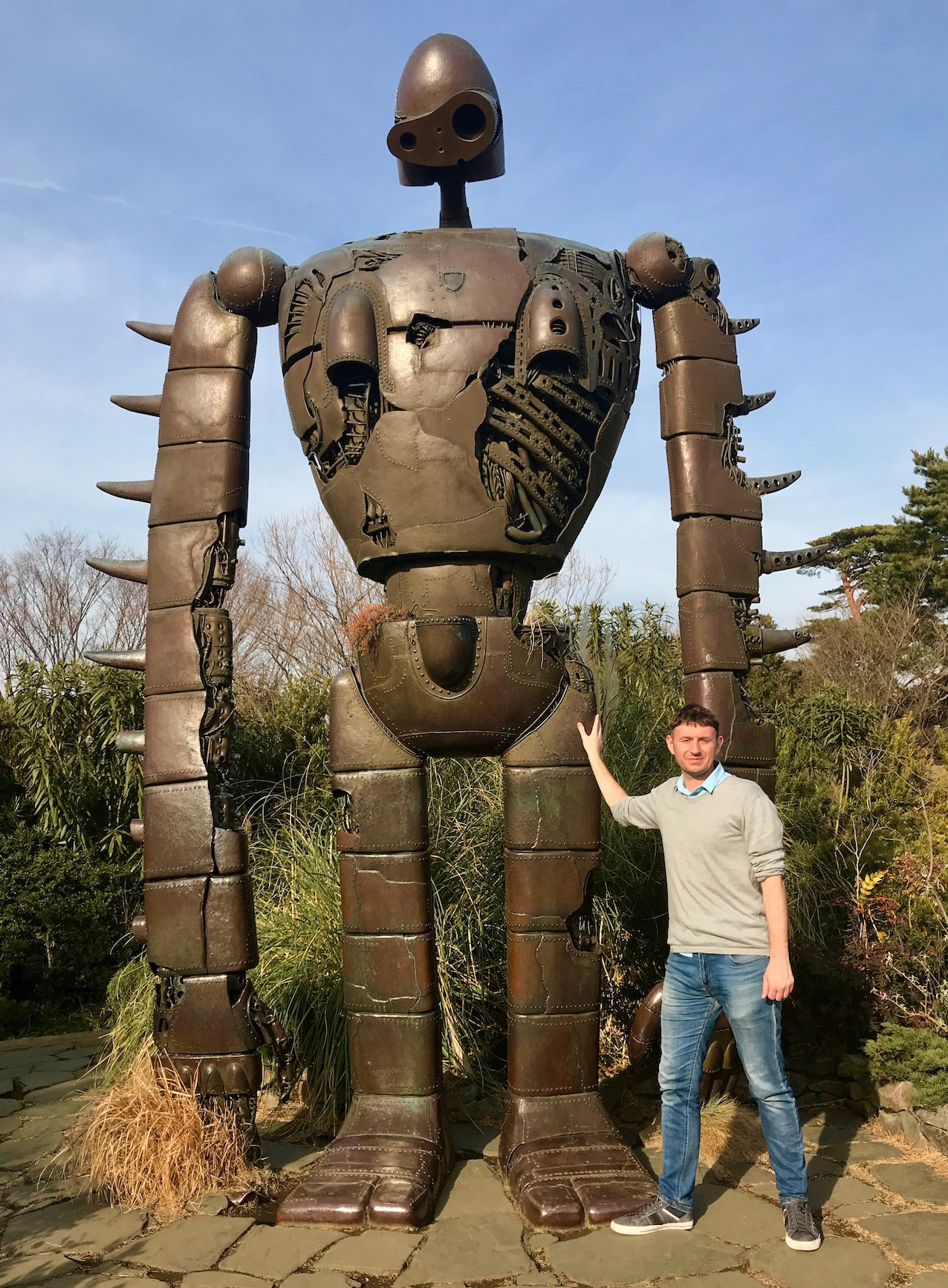Giant Laputan robot The Ghibli Museum Tokyo