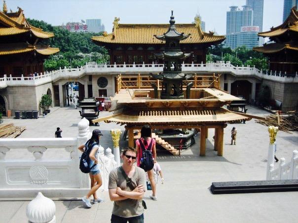 Jing'an Temple Shanghai.