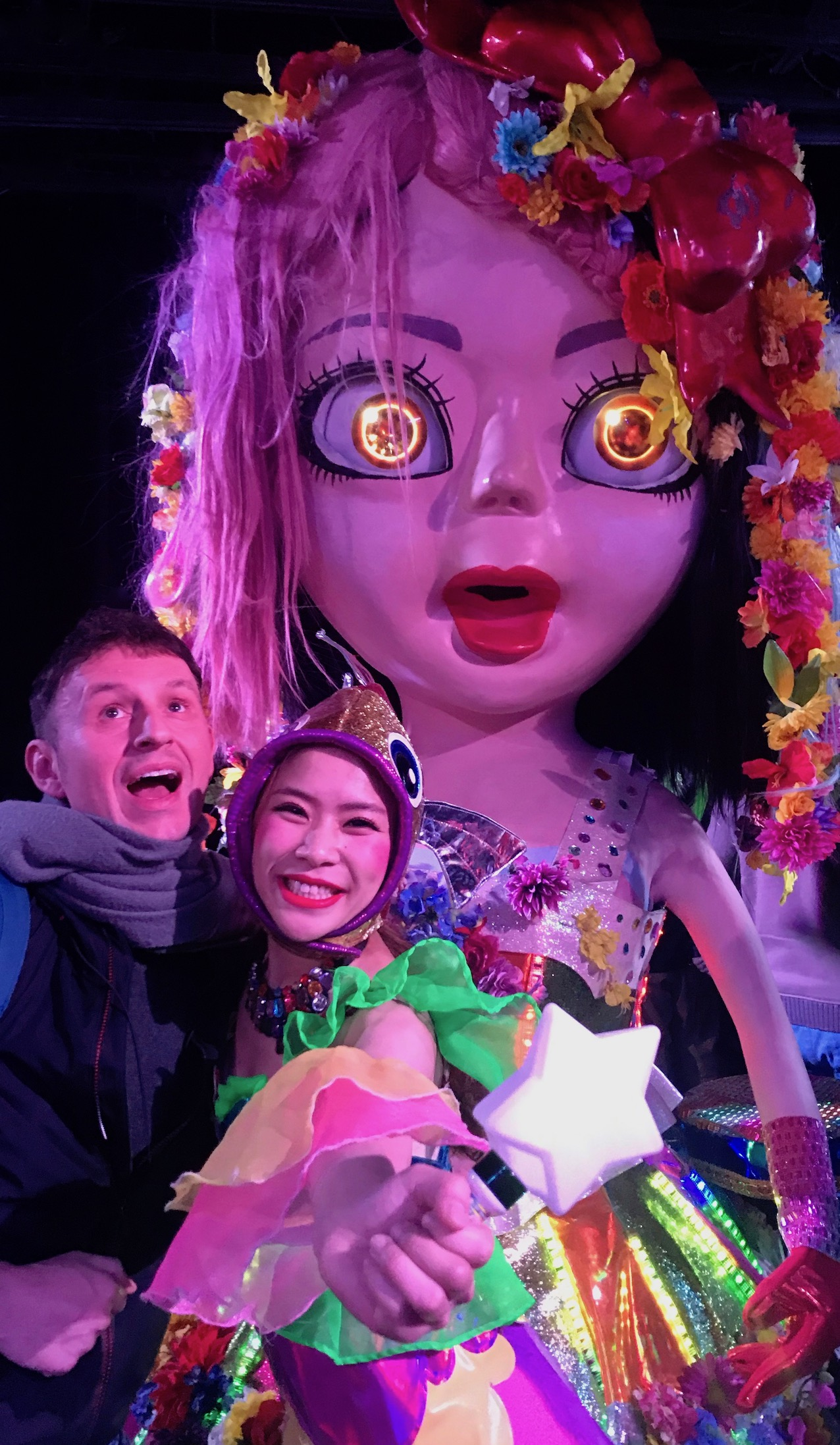 Meet the performers The Robot Restaurant Tokyo