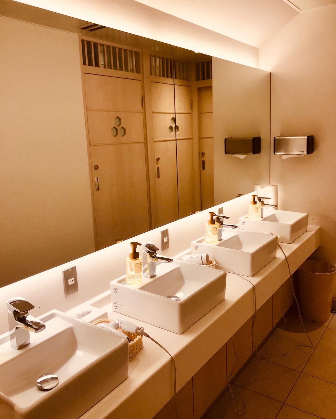 Men's bathroom Ginza Bay Hotel Tokyo.