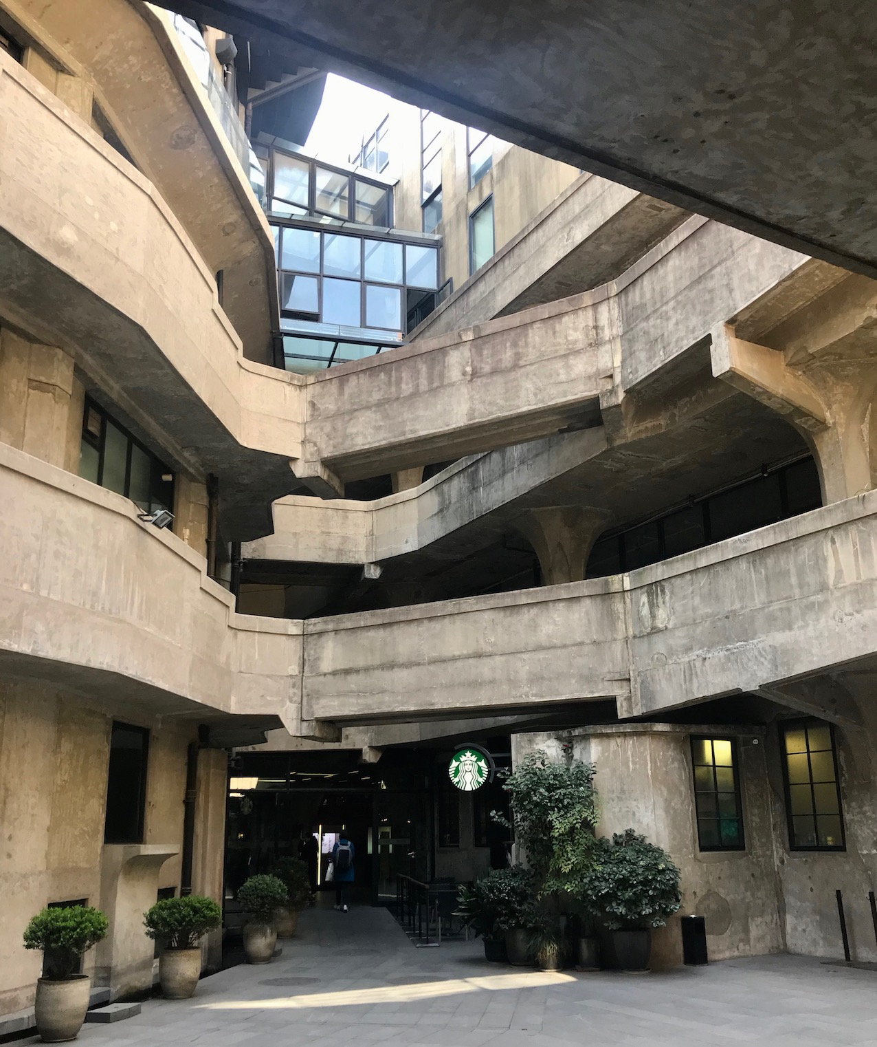Starbucks 1933 Slaughterhouse Shanghai.