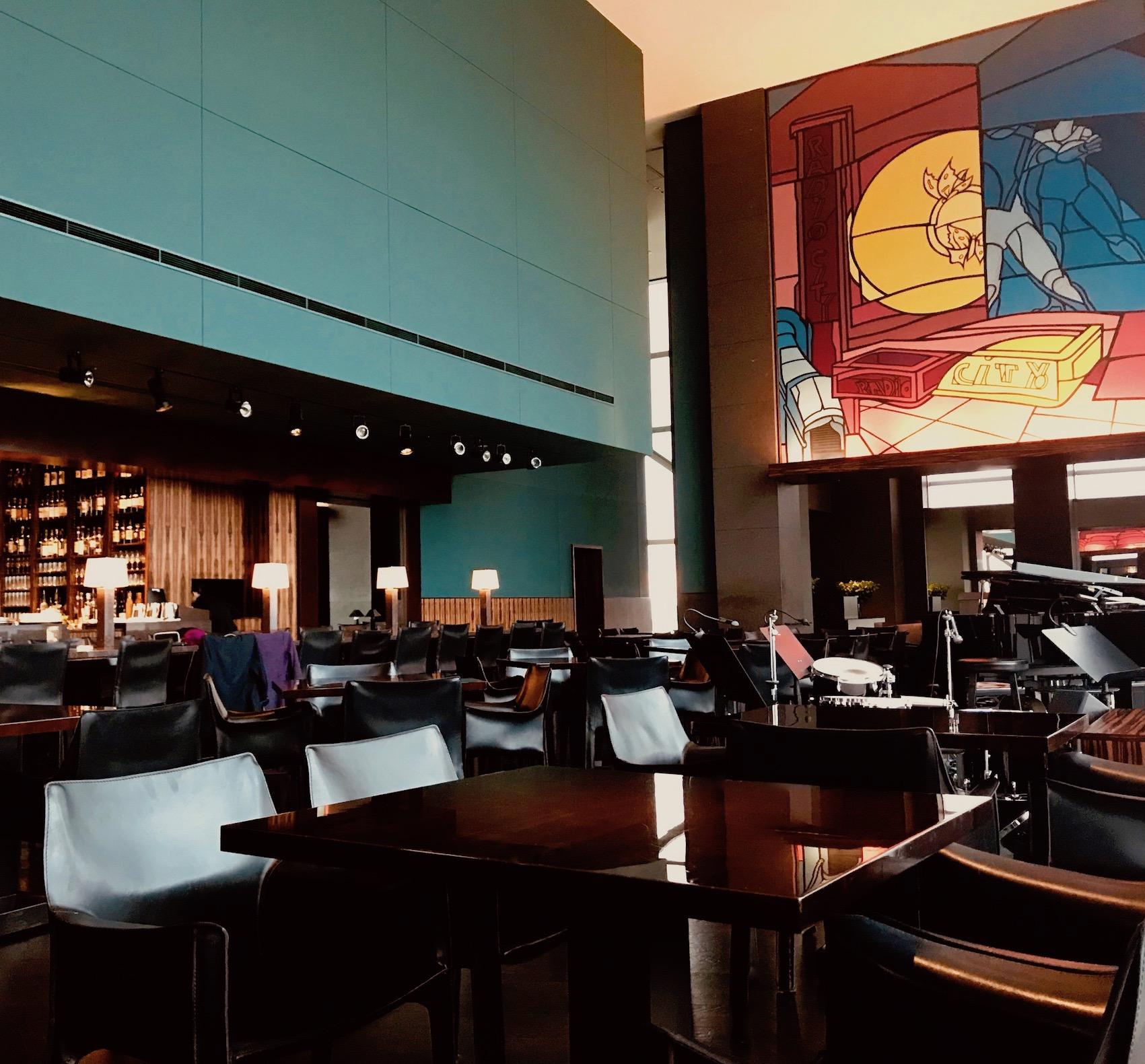 The New York Bar Park Hyatt Tokyo.