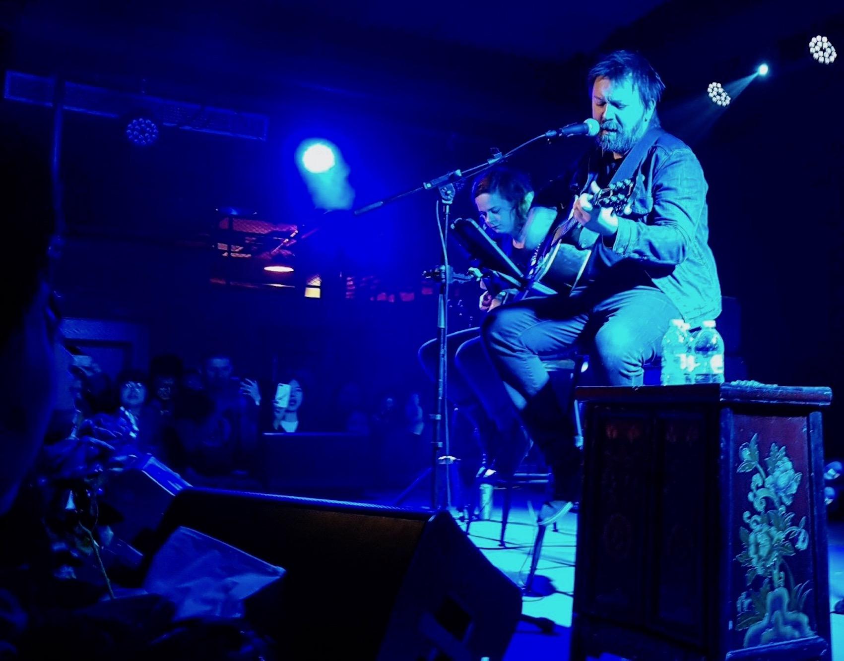 Paul Draper Acoustic live performance Yuyintang Park Shanghai.