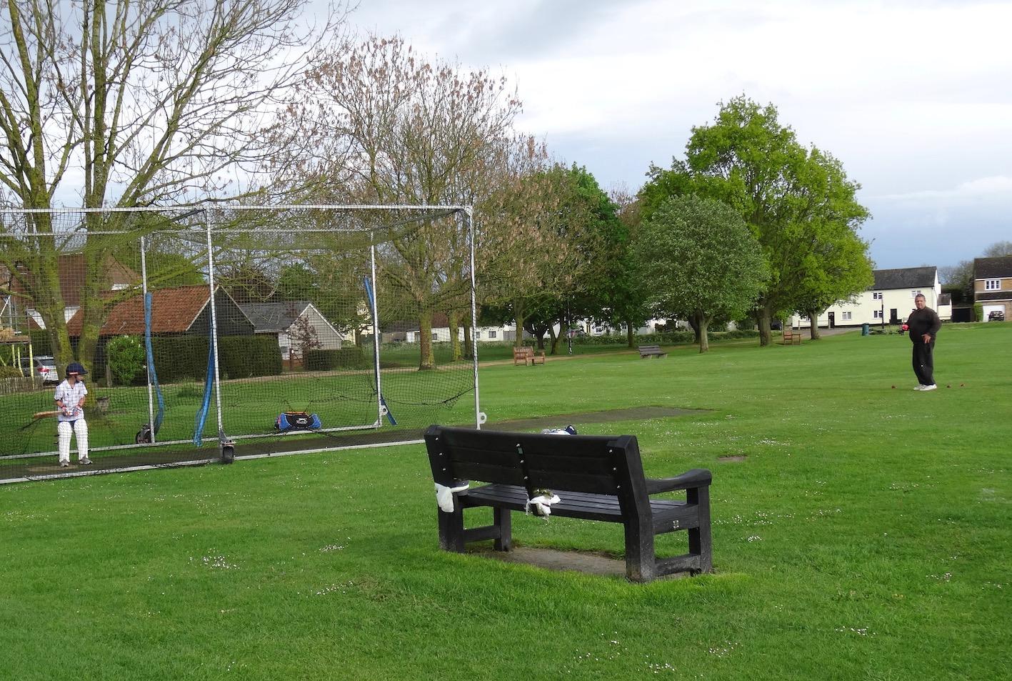 Barrington Cricket Club Cambridgeshire England.